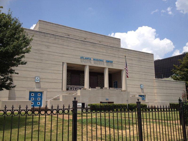 Atlanta Masonic Center - 1690 Peachtree St NW. Atlanta, GA 30309