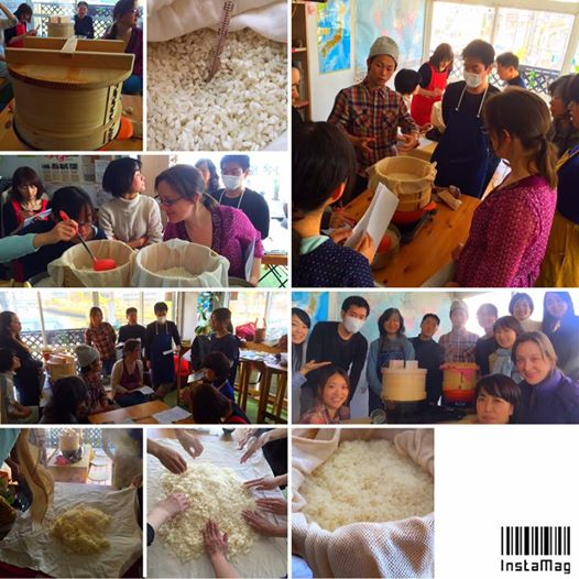 We often organize workshops of  Japanese traditional fermented foods