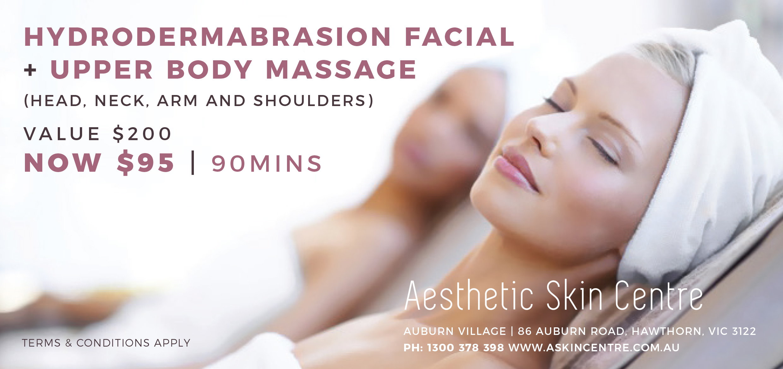 Aesthetic Skin Centre | Hydrodermabrasion Facila
