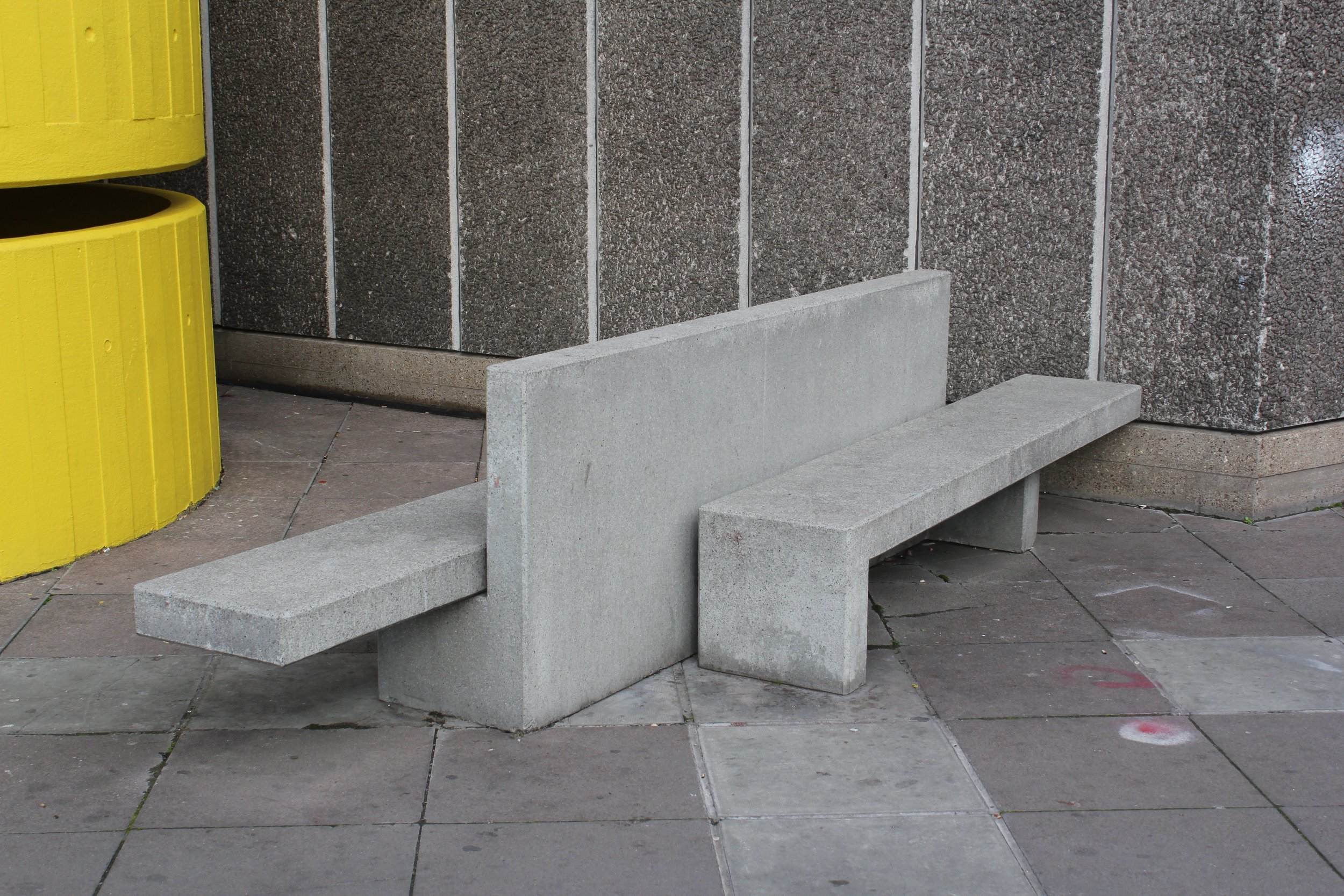 Find this seat on the South Bank