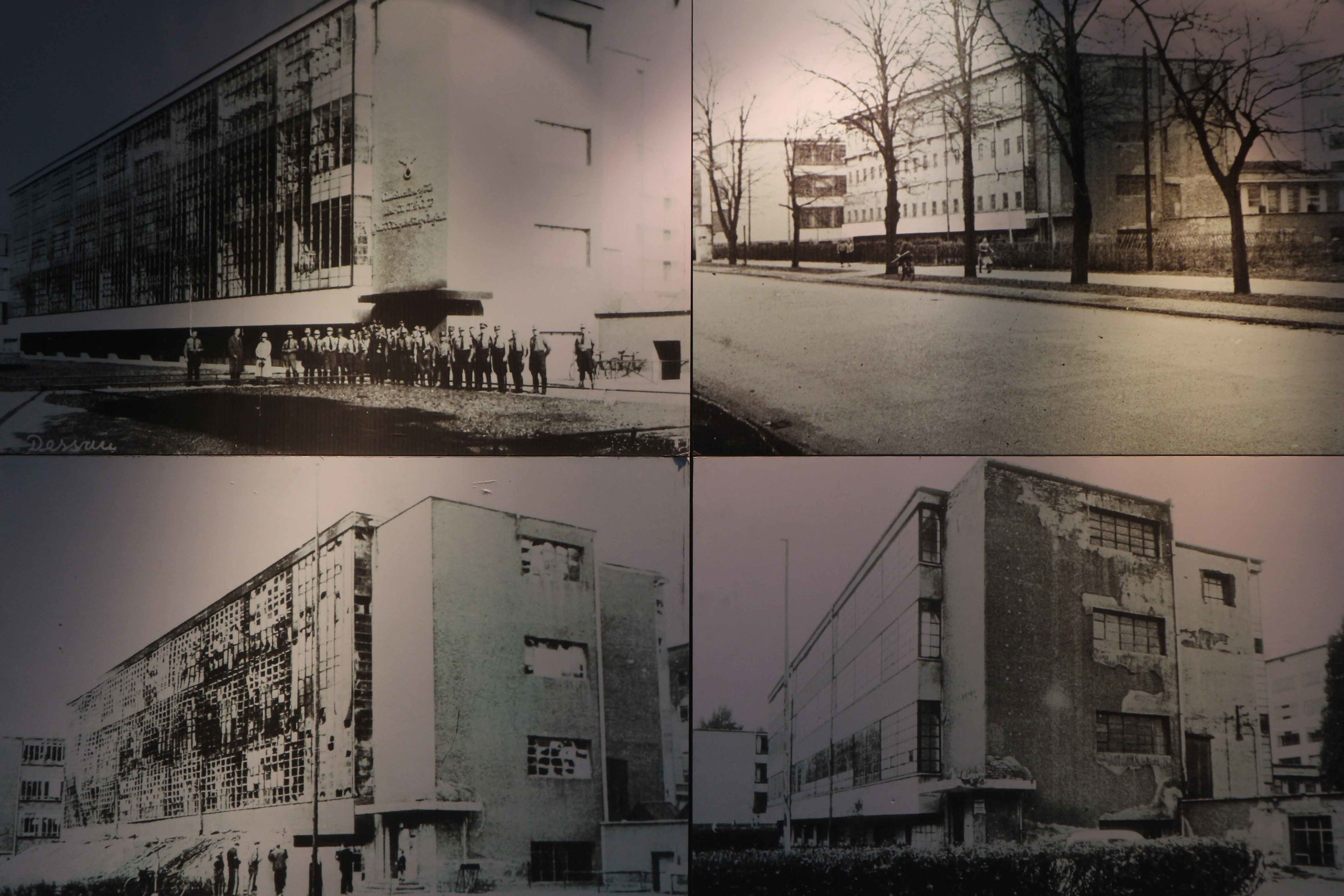 The Bauhaus across the ages, Nazi occupation and after the war
