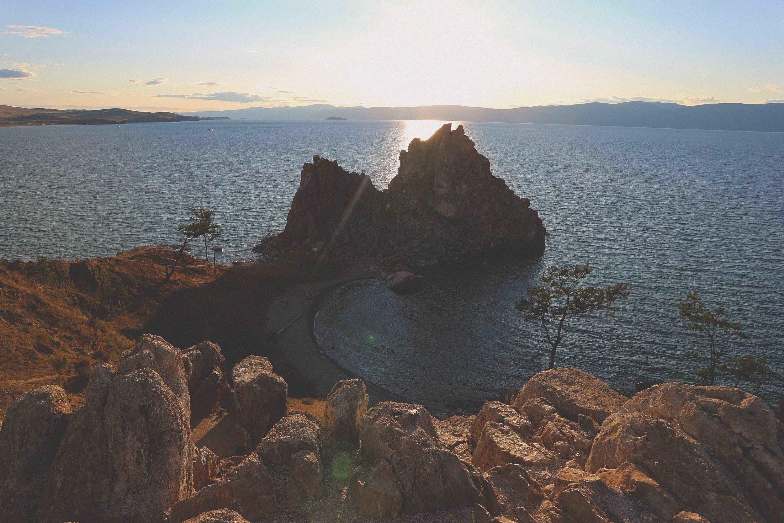 Shaman rock on Olkhon Island