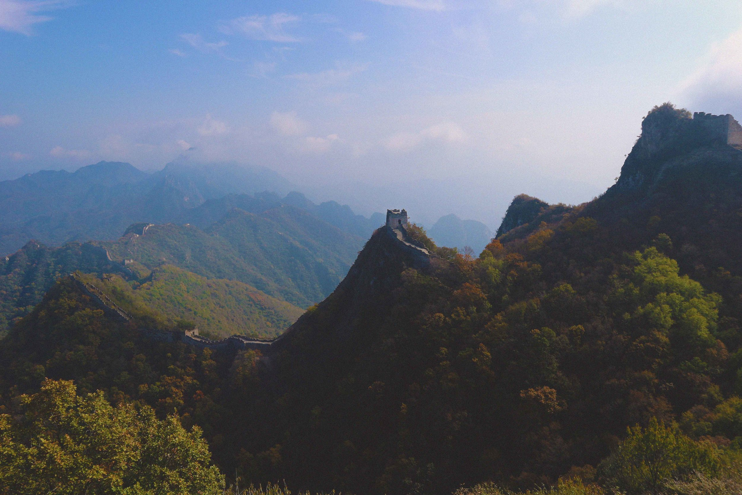 Trekking the Jiankou section of The Great Wall