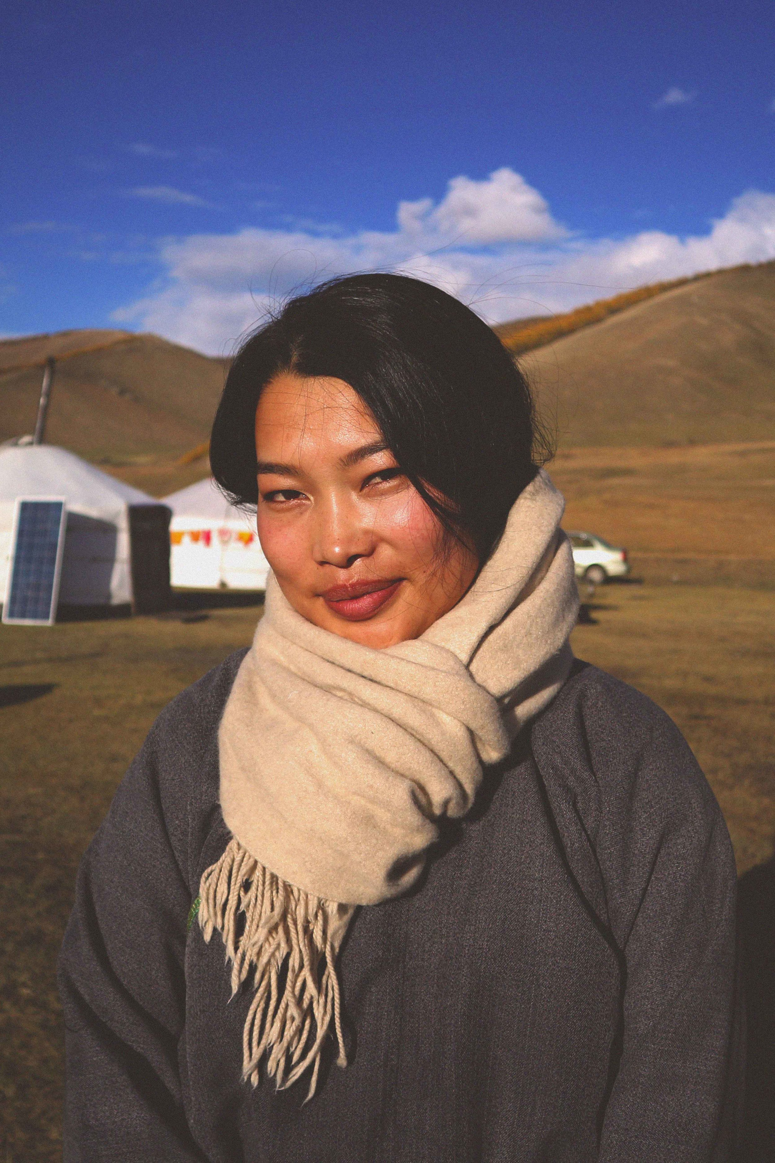 Mongolian Tour Guide Portrait