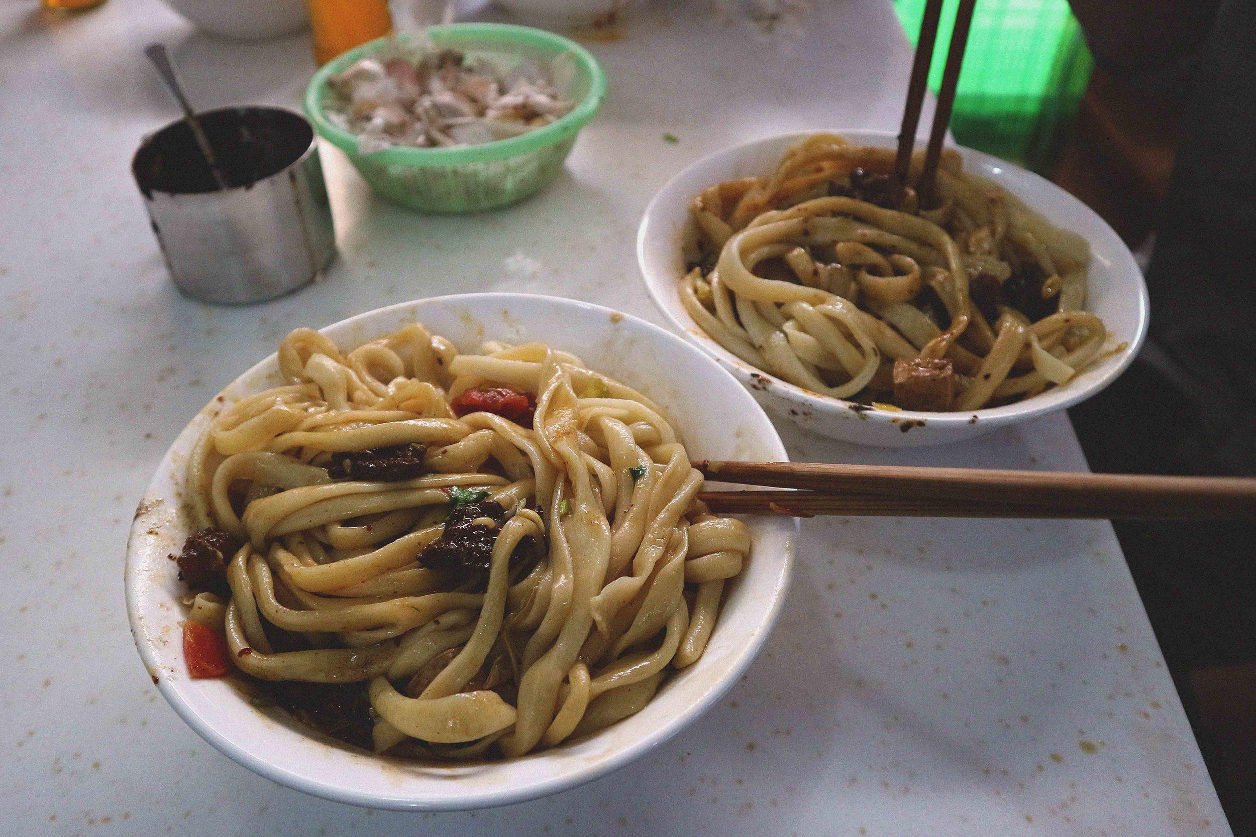 Those zingy noodles!