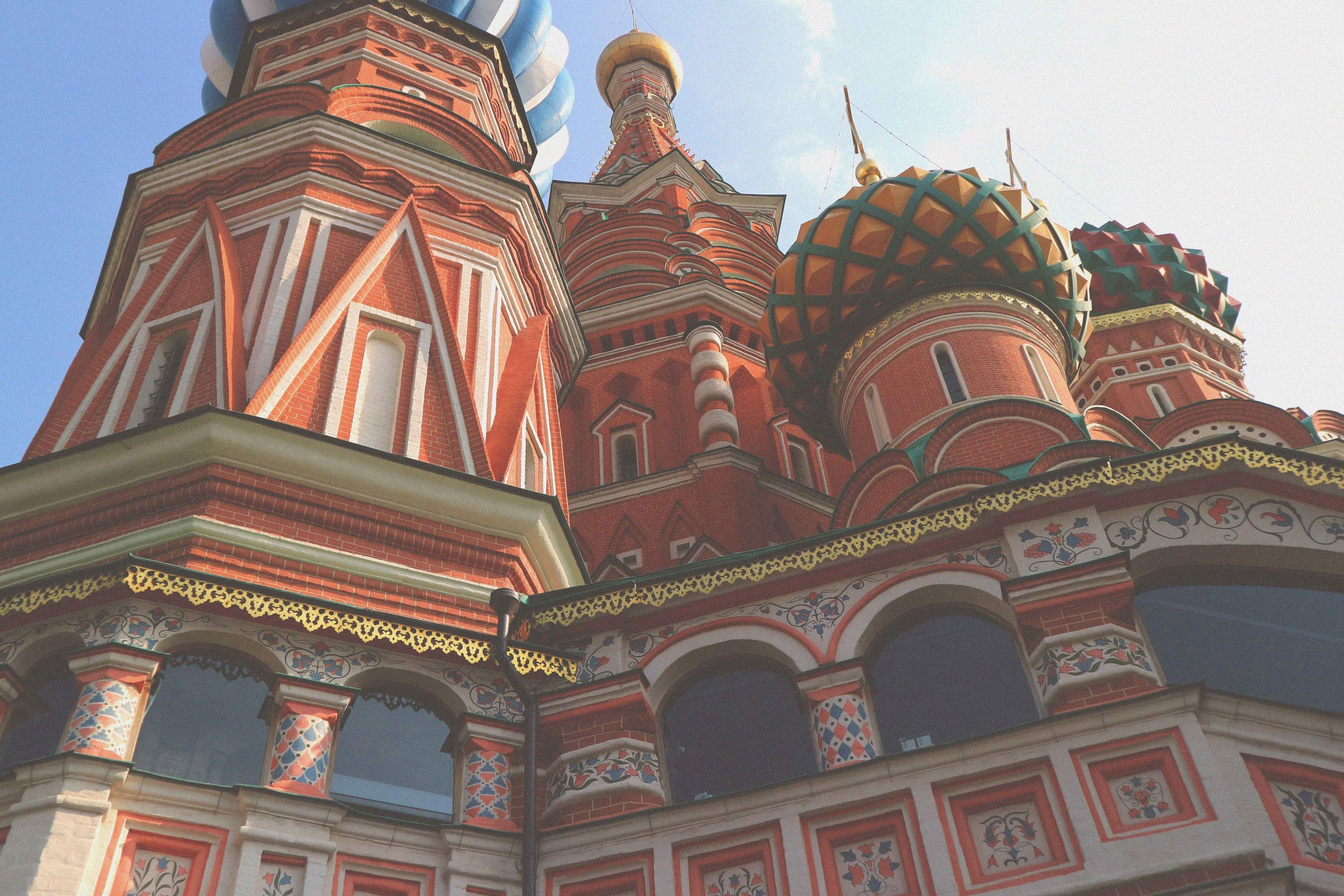 St Basils Catherdral in Moscow, Russia