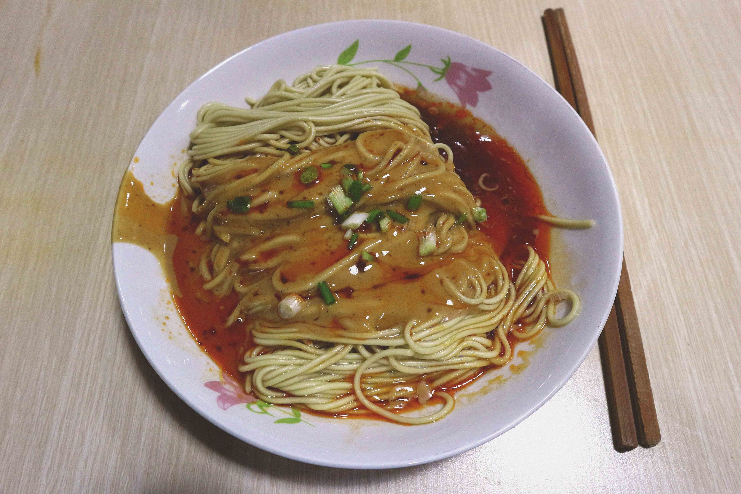 Delicious peanut and sesame noodles