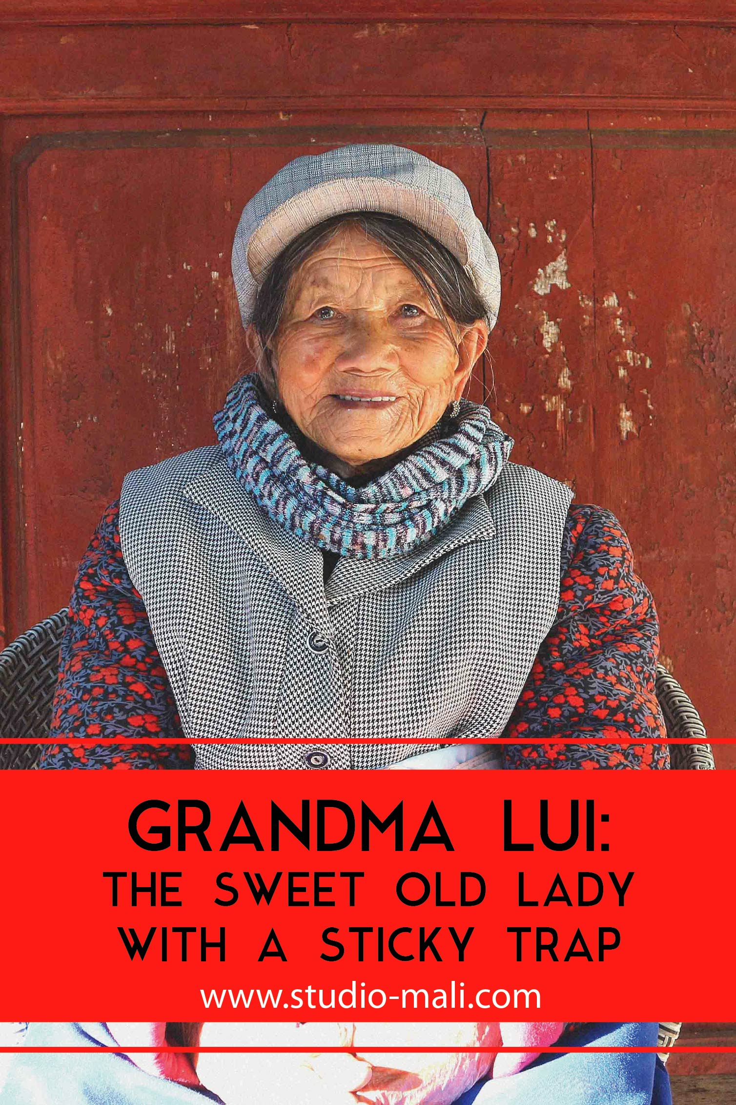 Grandma Lui - The Sweet Old Lady With A Sticky Trap