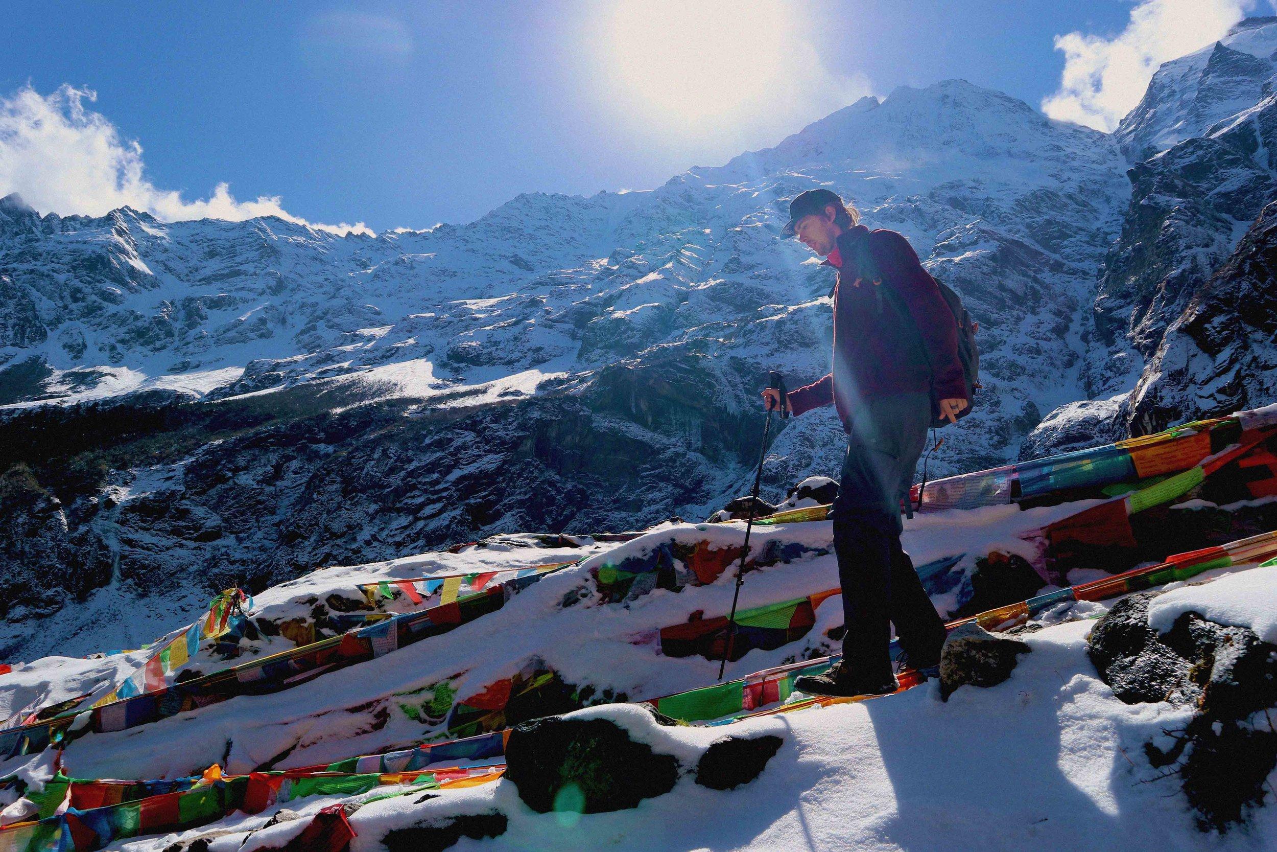 Yubeng on the border of Tibet
