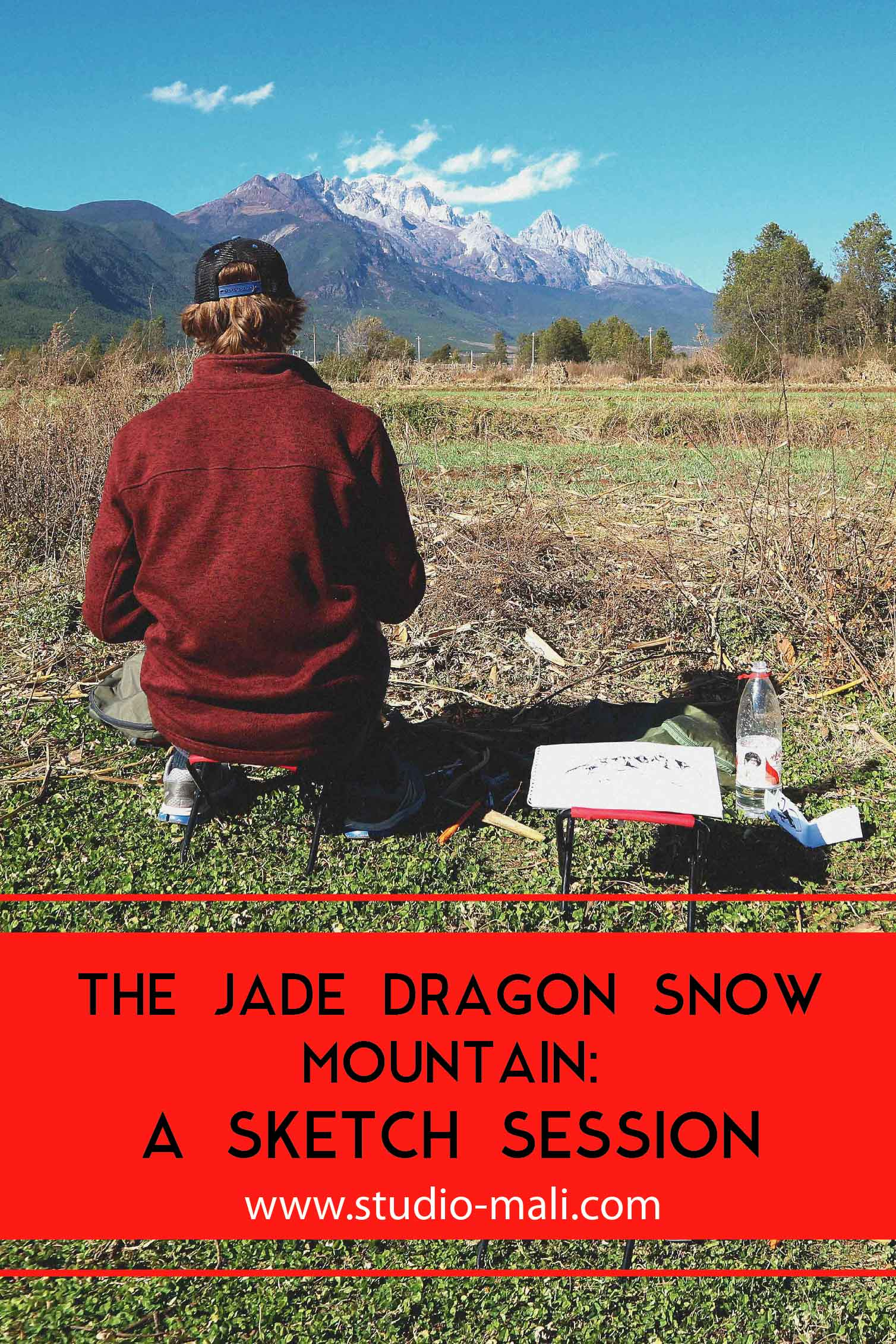 The Jade Dragon Snow Mountain: A Sketch Session