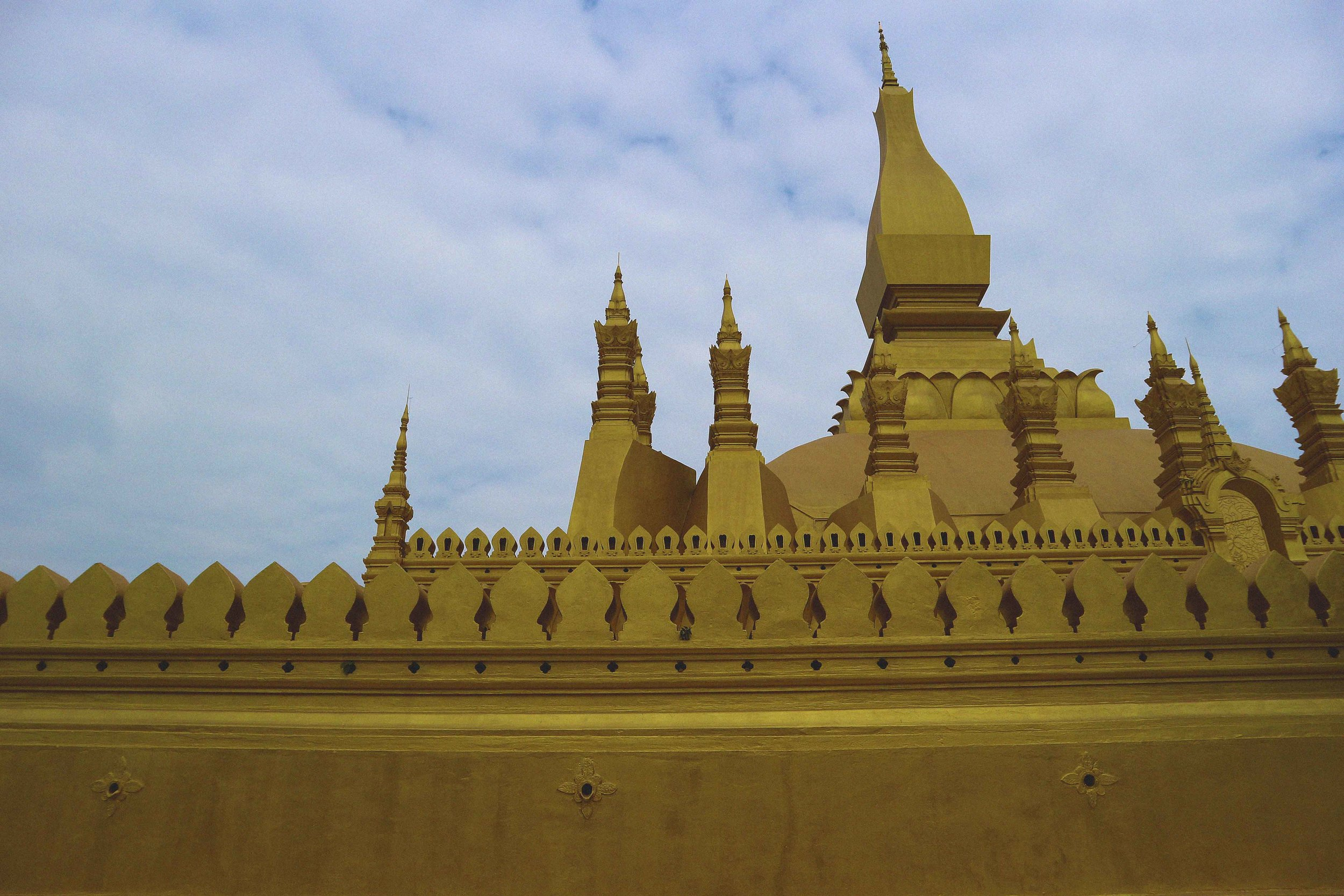 That Luang Golden Stupe