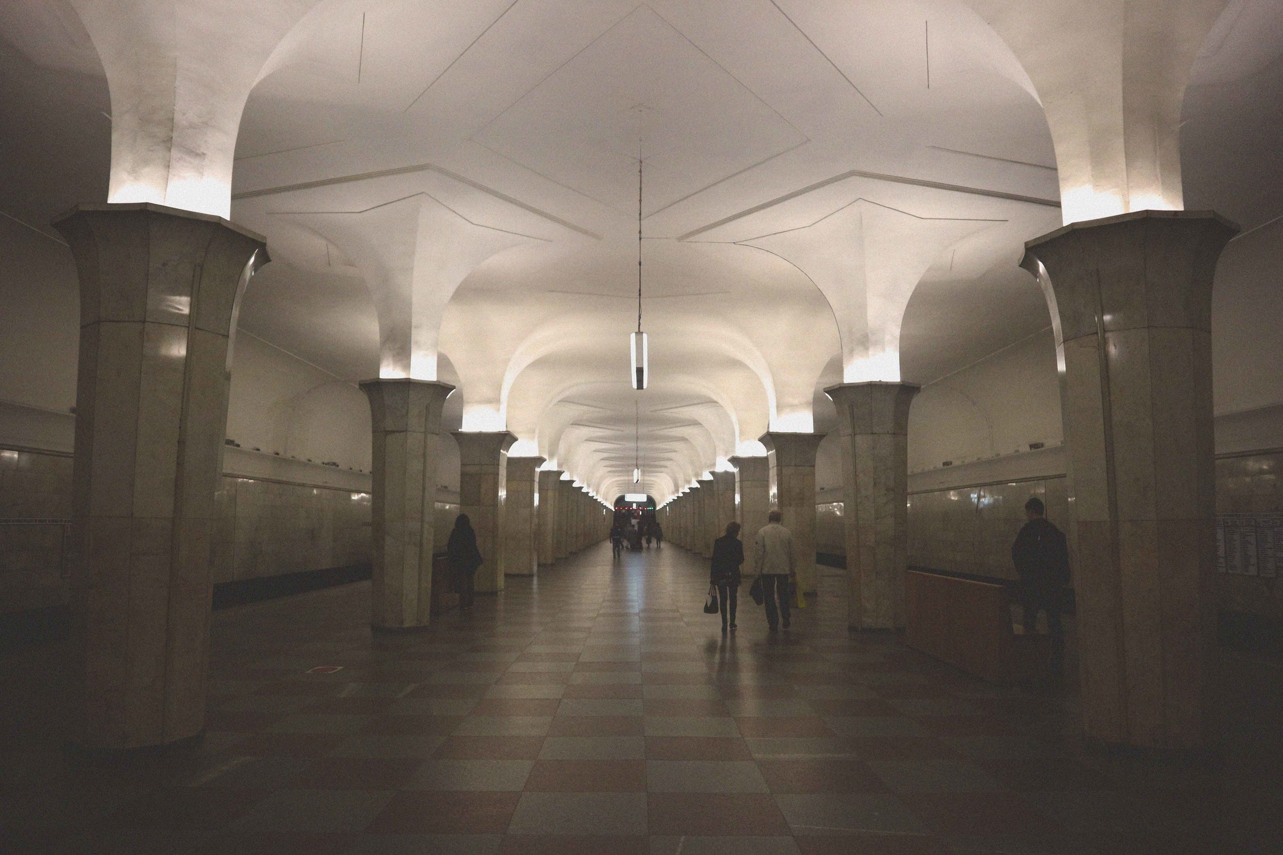 Art Deco underground in Moscow