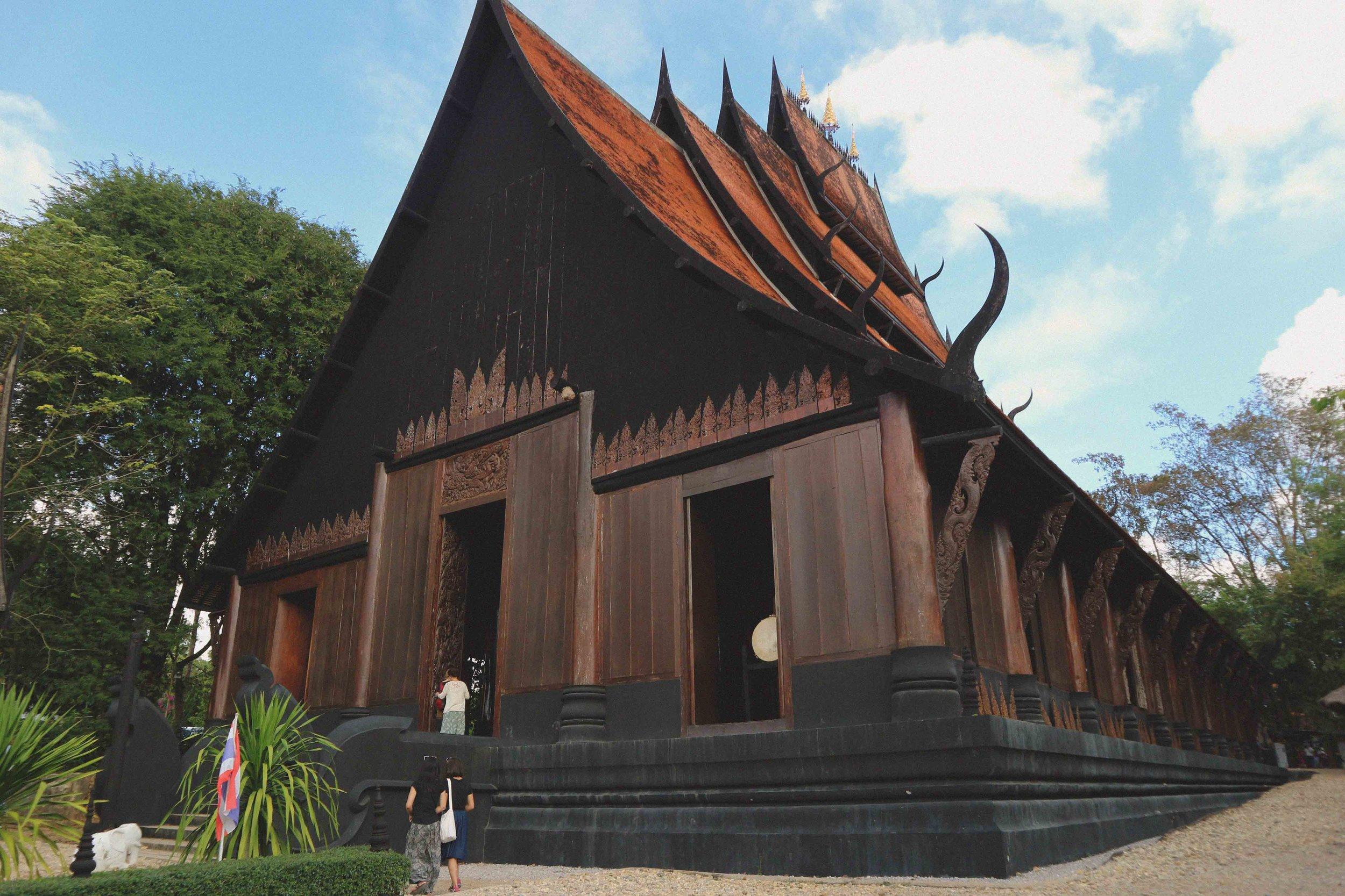 Thawan Duchanee's Black Temple