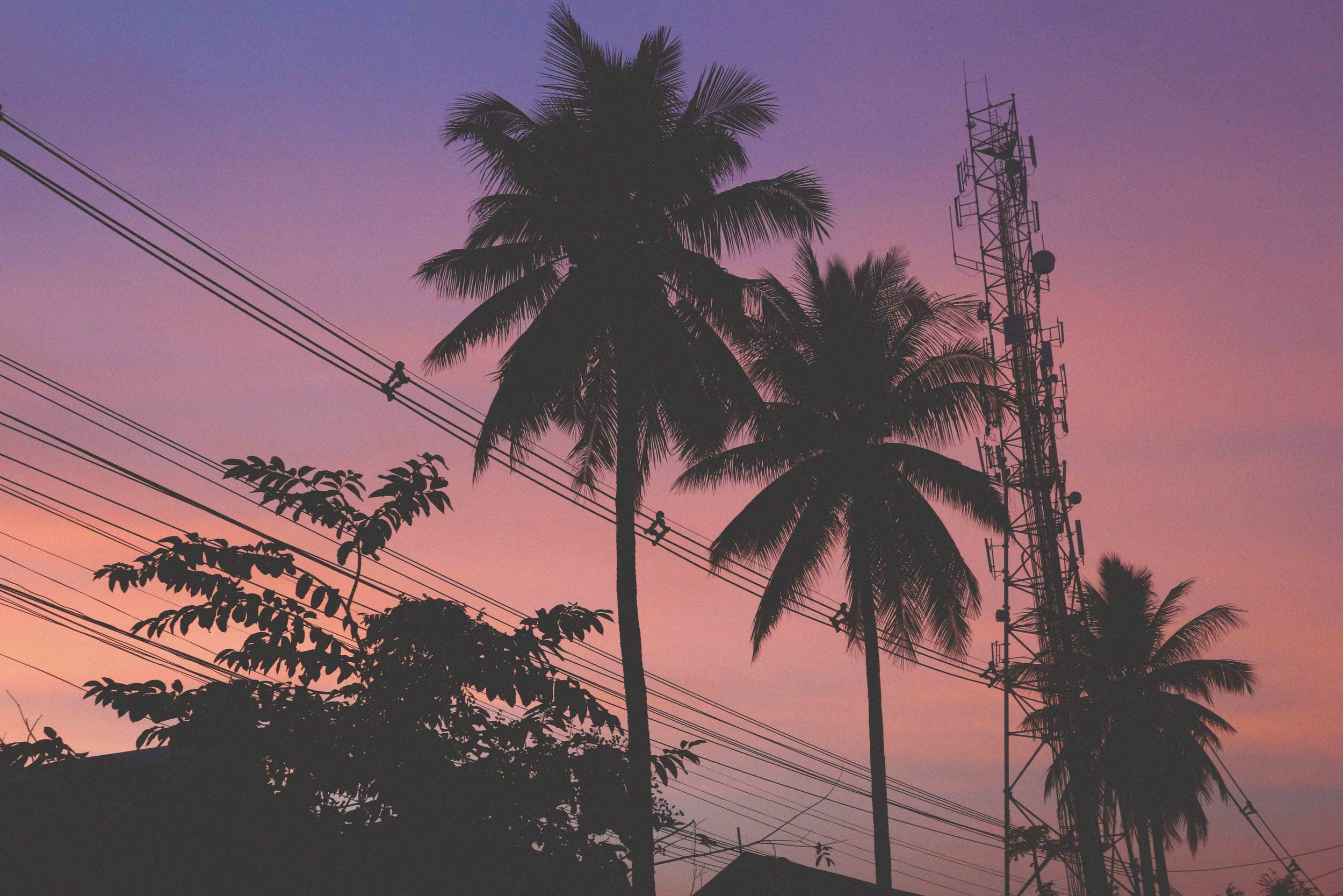 A Luang Prabang sunset
