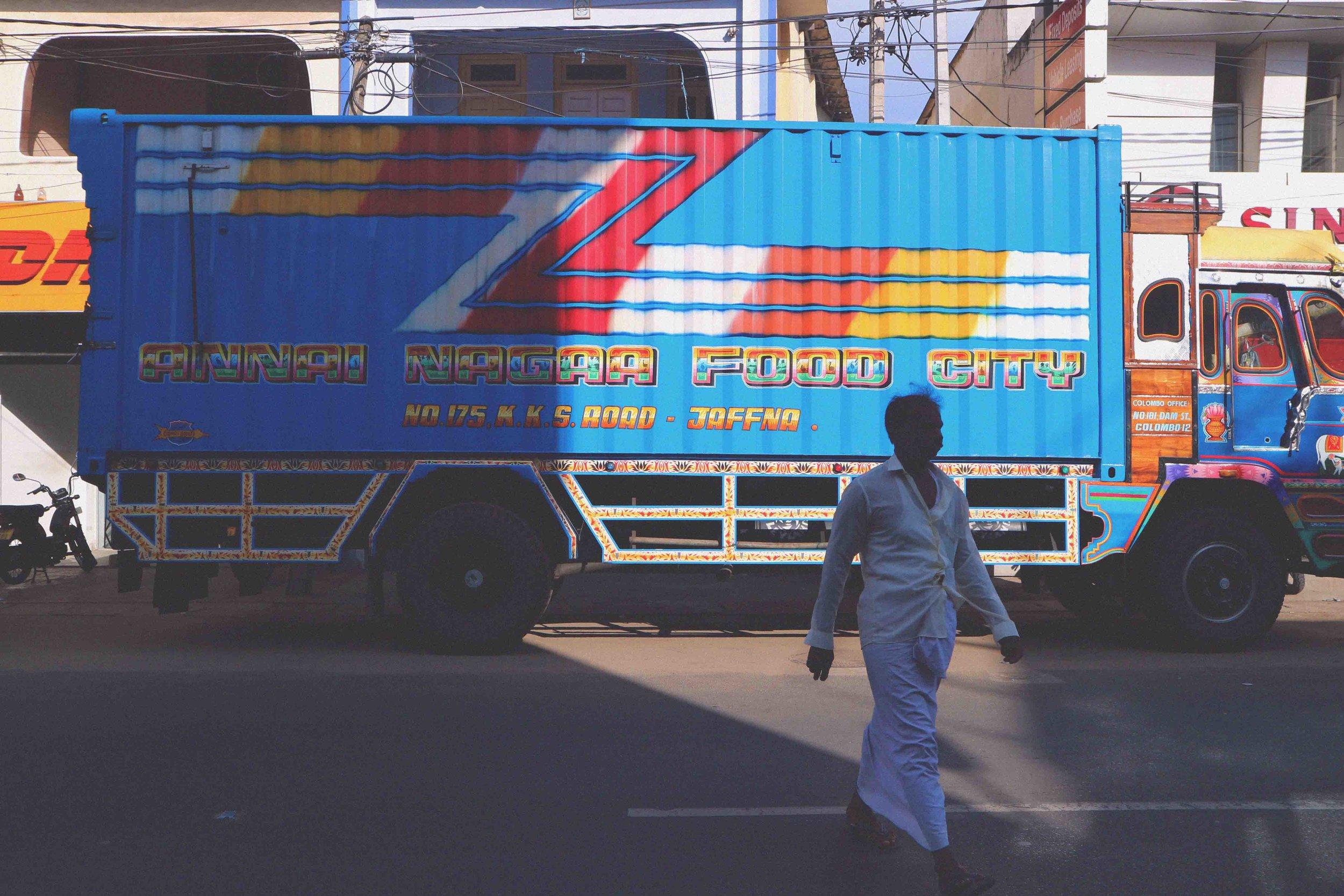 Annai Nagaa Food City Truck in Jaffna