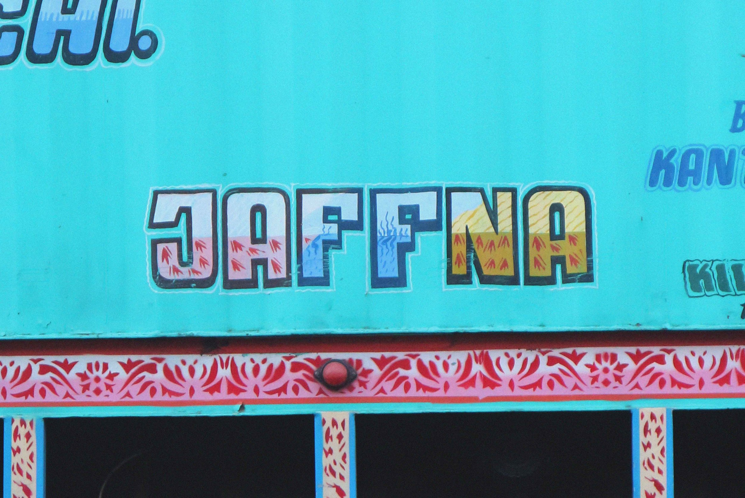 'Jaffna' painted