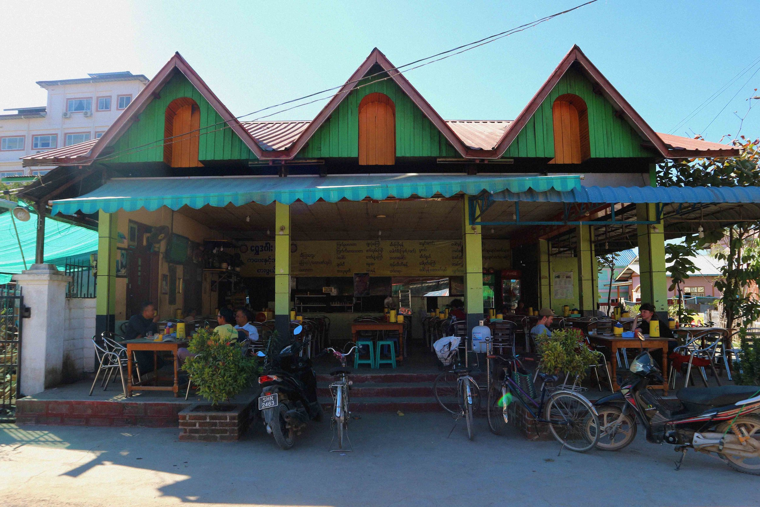 The local restaurant we recommend dining at in Nyuangshwe