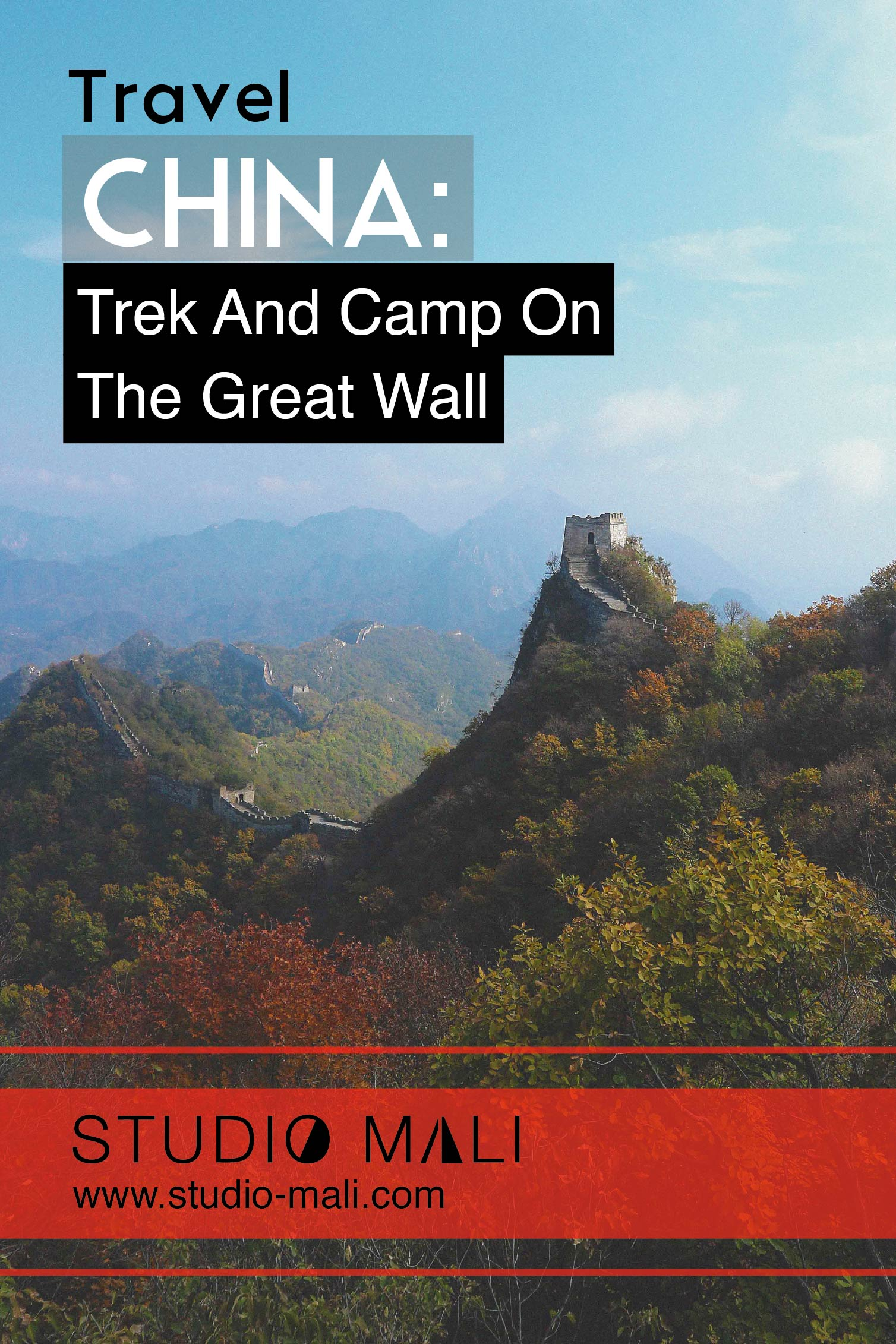Trek and Camp on the Great Wall, by Studio Mali