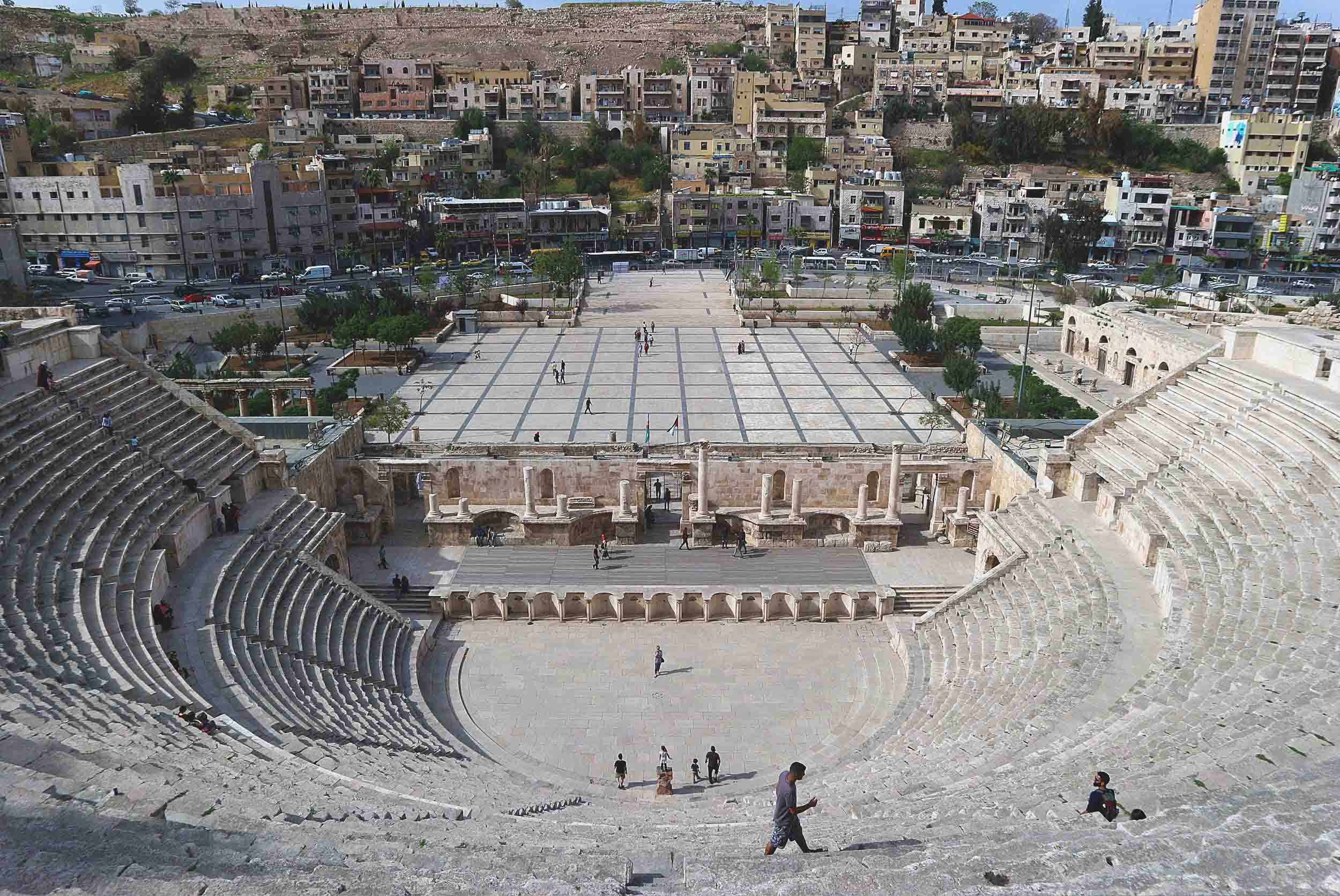 The ancient Roman Amphitheatre
