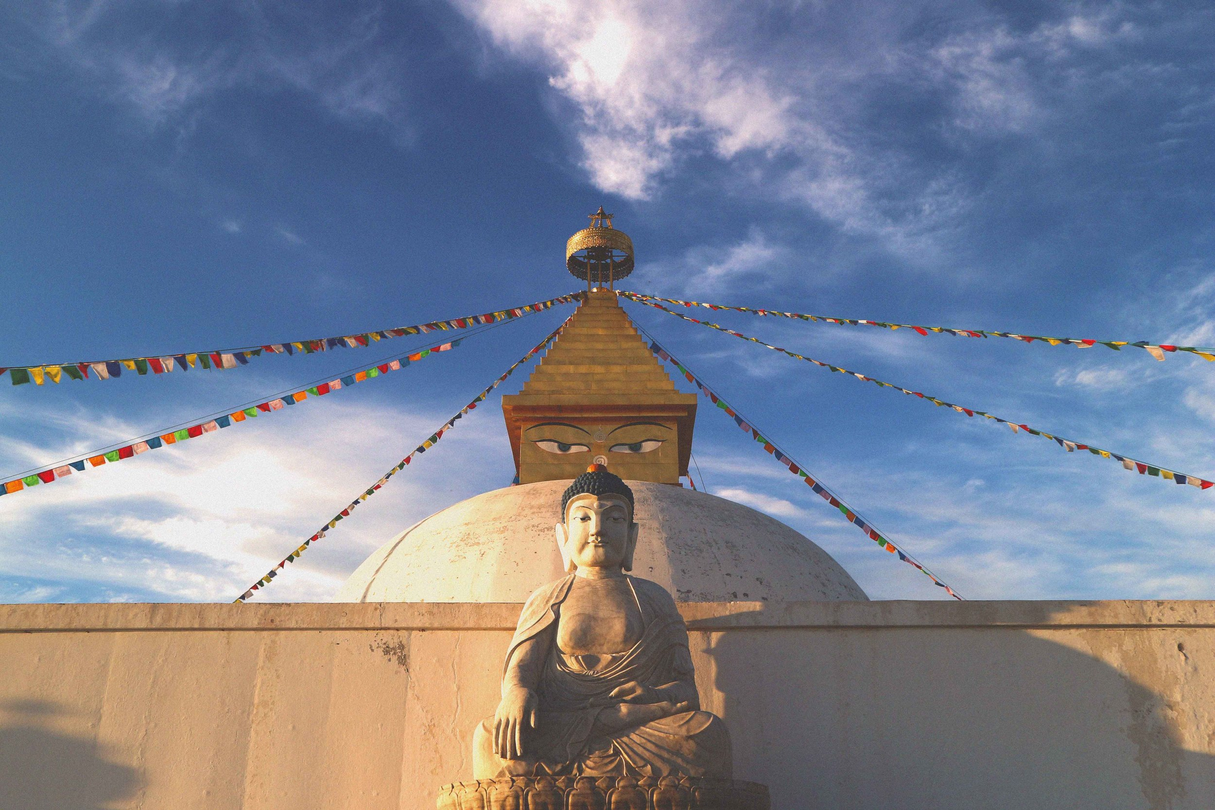 Buddhist temples and monasteries have an inherent ability to make you reflect and slowdown...