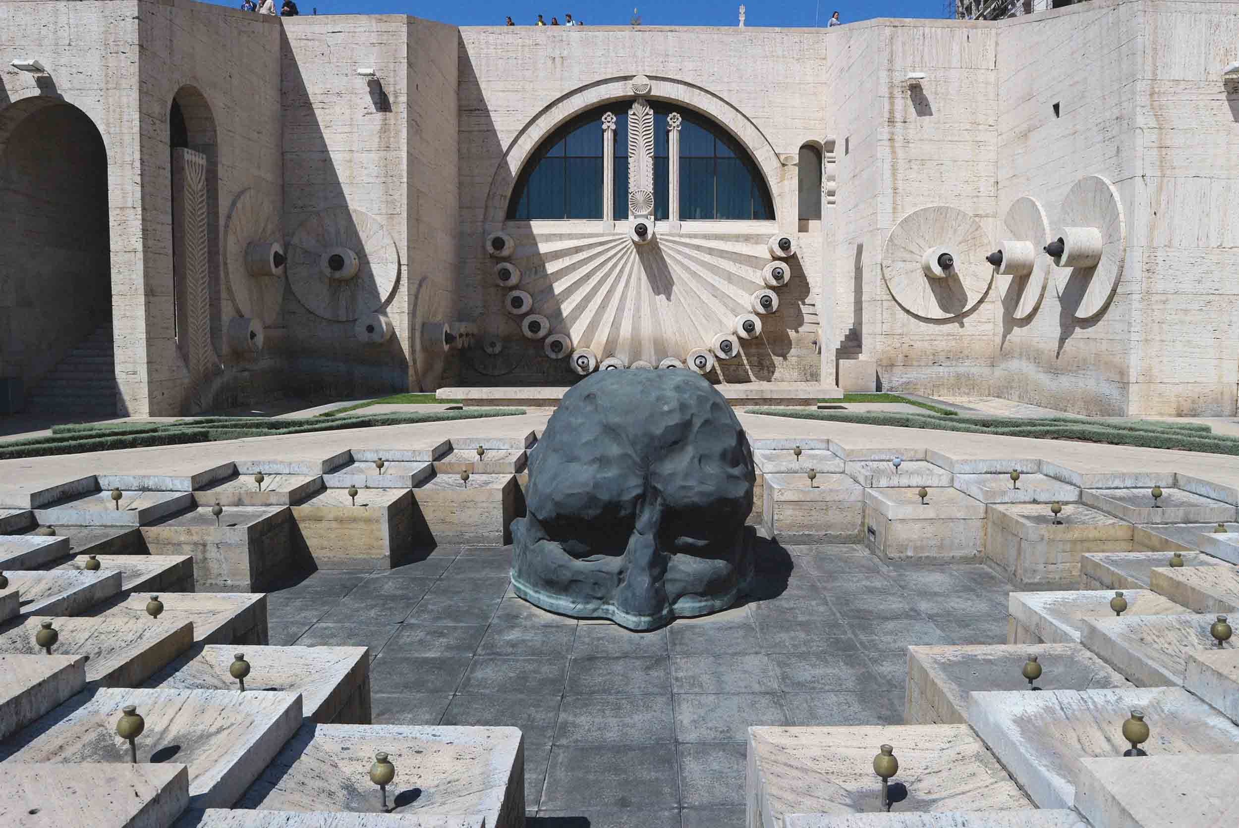 Sculpture in the Cascade Complex, Yerevan, Armenia
