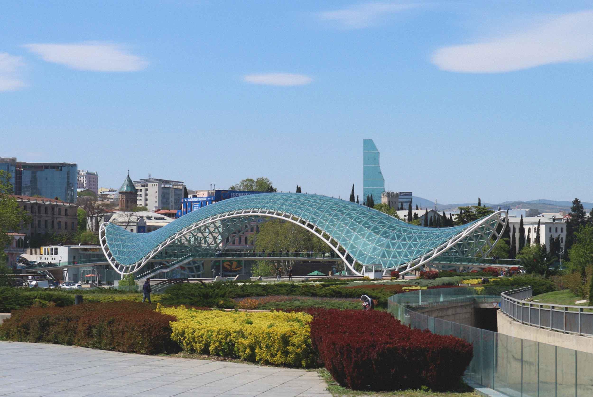 Modernist Peace Bridge