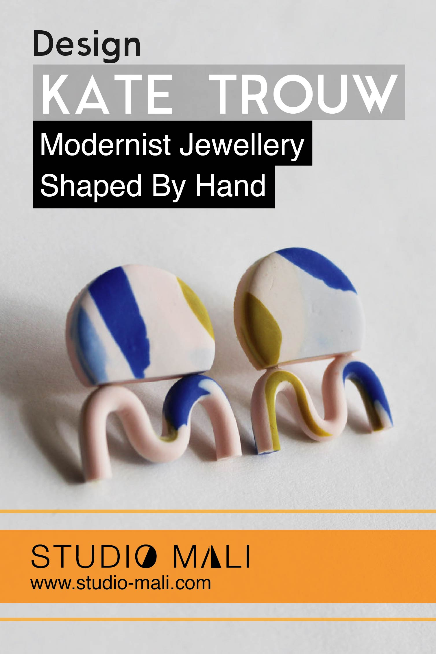 Kate Trouw: Modernist Jewellery Shaped By Hand