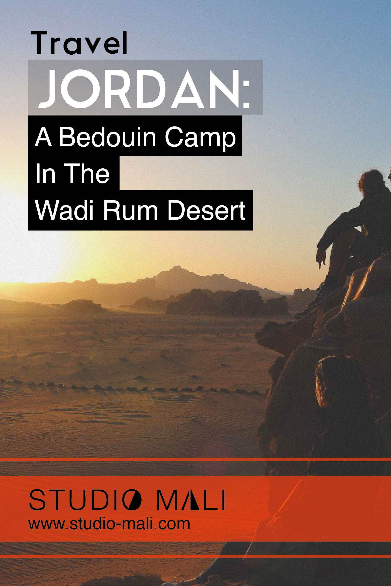 Jordan - A Bedouin Camp In The Wadi Rum Desert, by Studio Mali