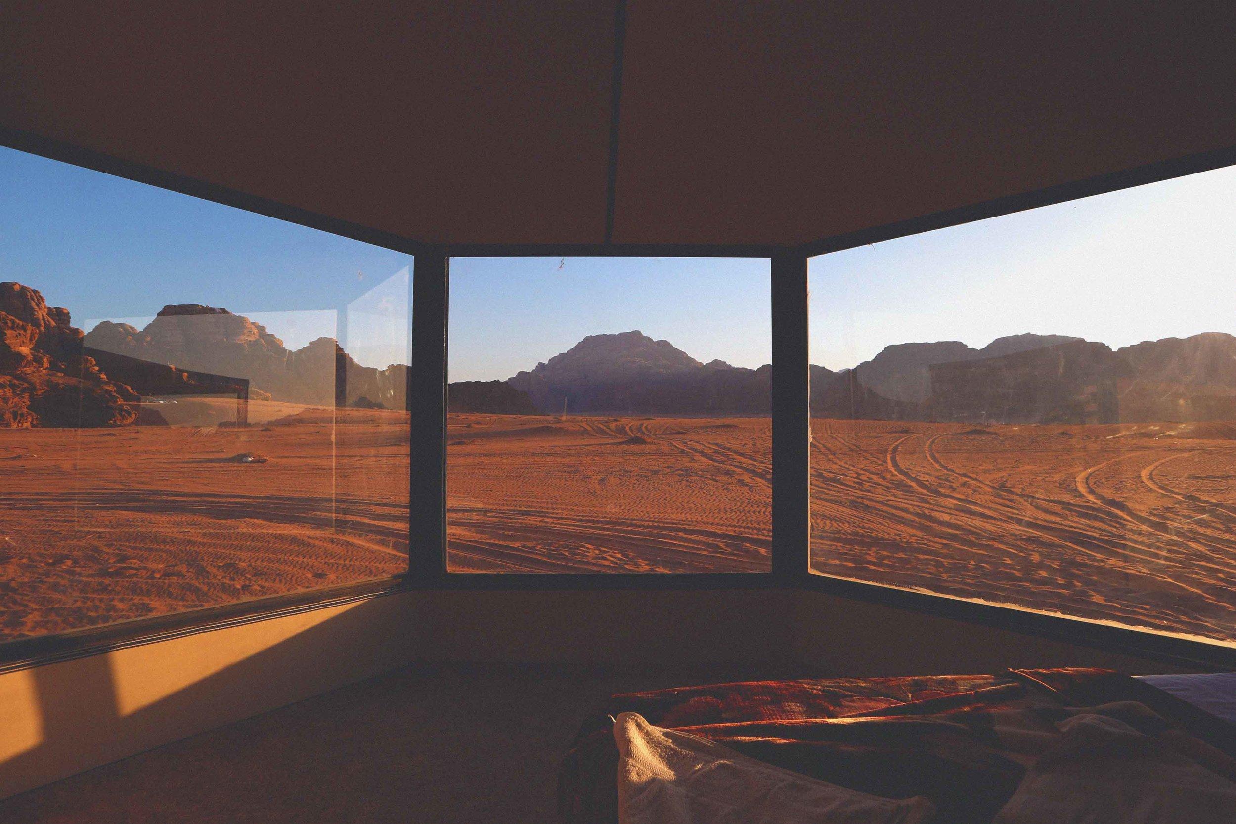 A Bedouin Camp -