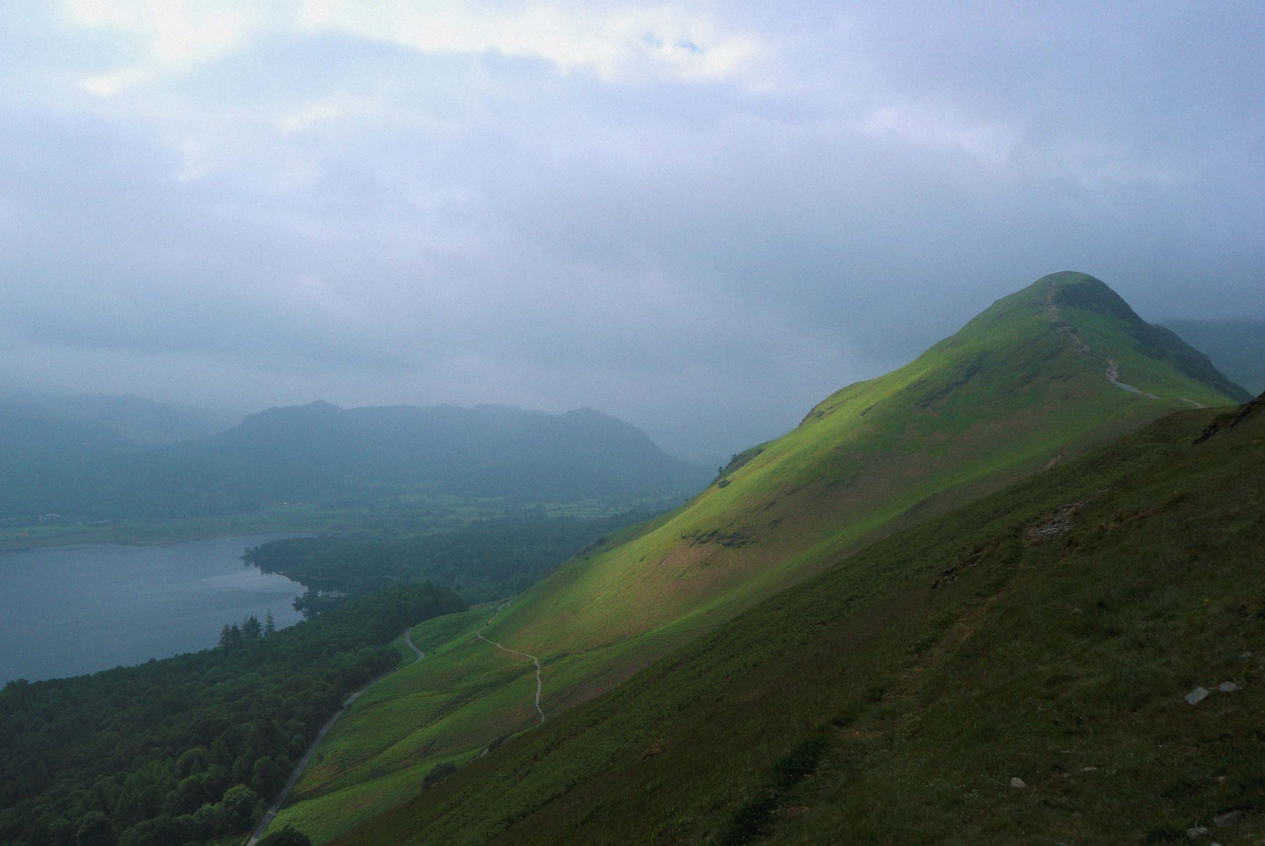If you get a chance to trek up Cat Bells by Derwent Water on a clear day then you won't be disappointed by the views!