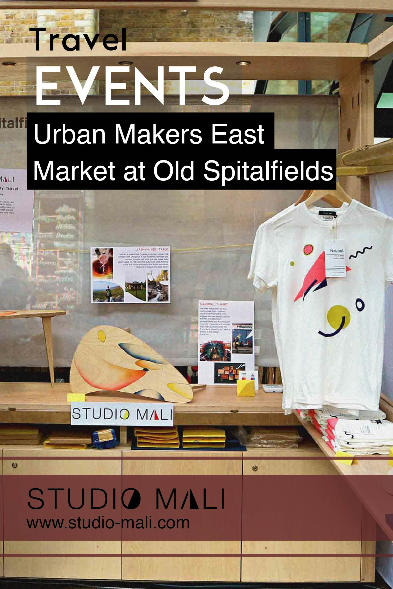 Events - Urban Makers East At Old Spitalfields, by Studio Mali