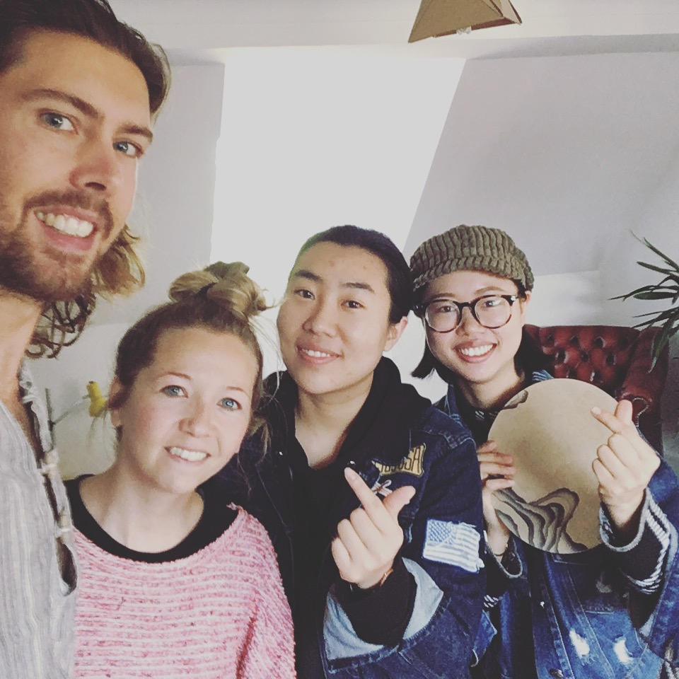 We loved meeting Jiayi and Yuan through Airbnb. Discovering that we visited Yuan's home town of Dali last year!
