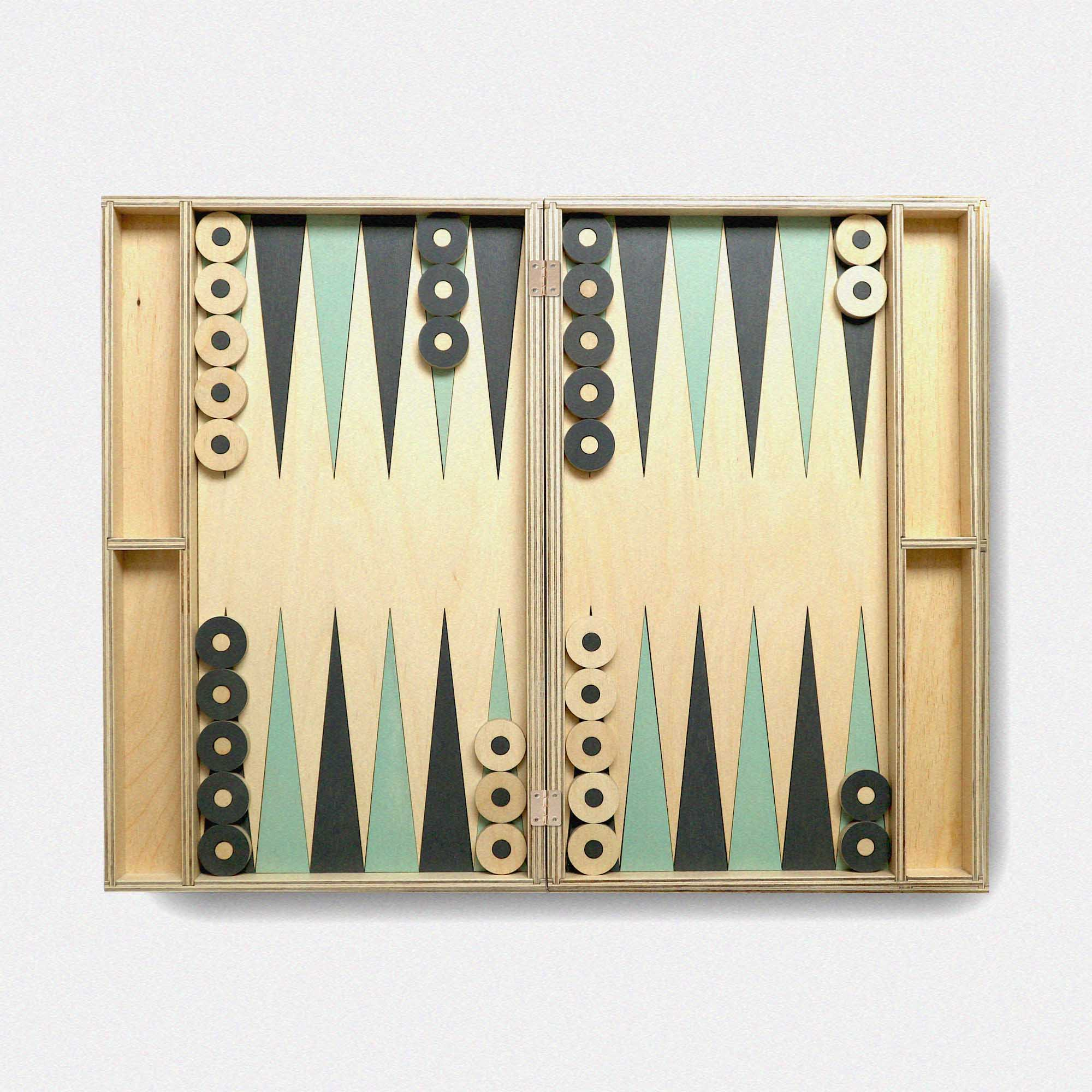 Bespoke Backgammon Game