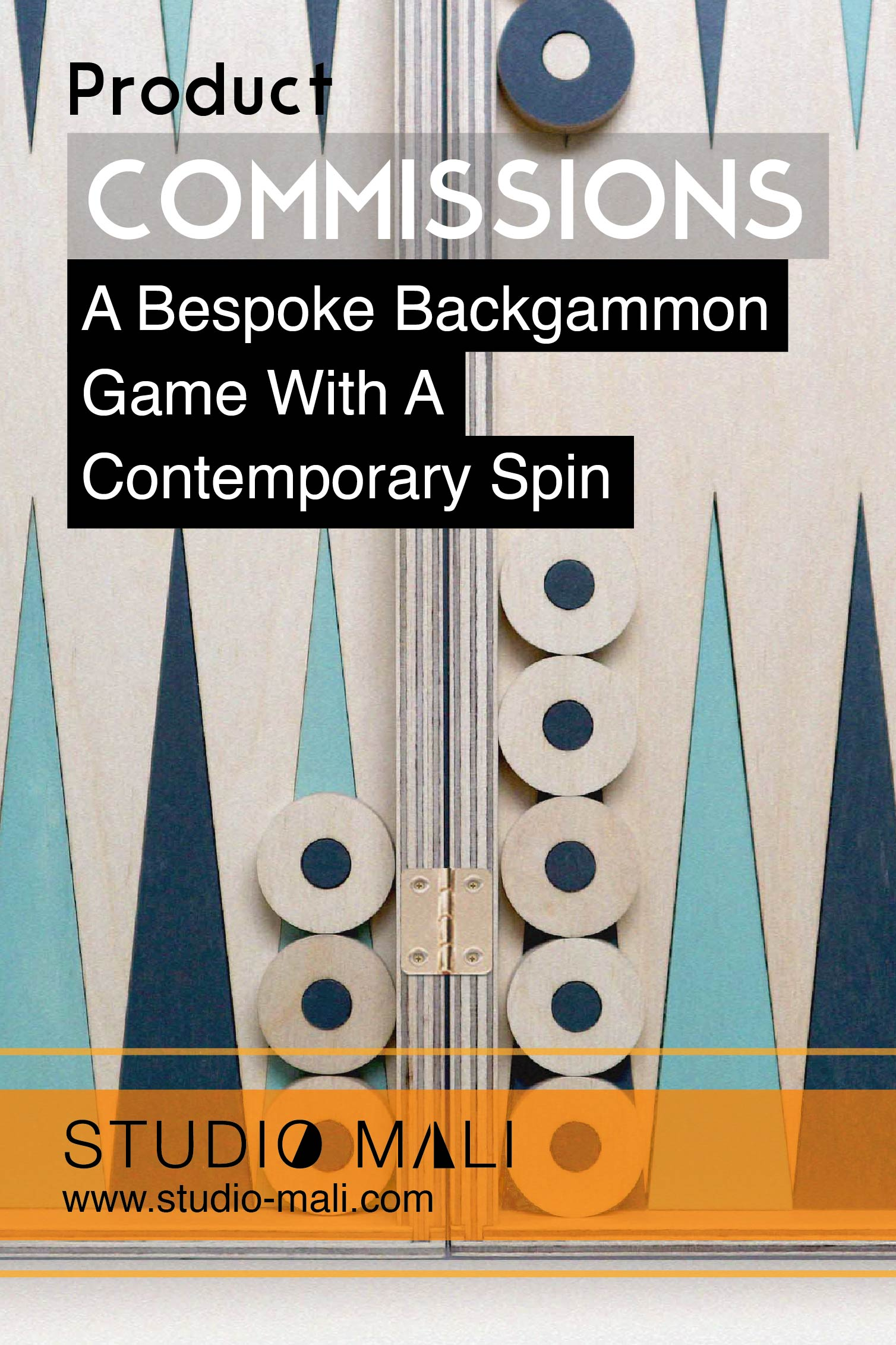 Commissions - A Bespoke Backgammon Game With A Contemporary Spin