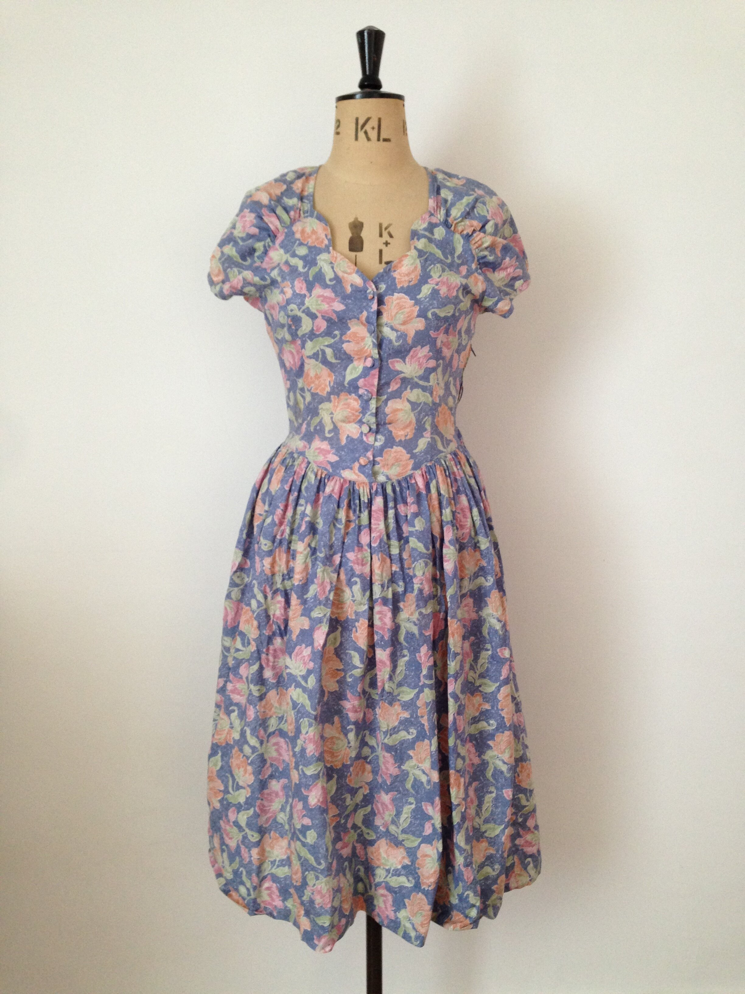 Laura Ashley 90's grunge dress