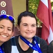 Julie MATHIEU   Vice-Championne d'Europe Universitaire 2017