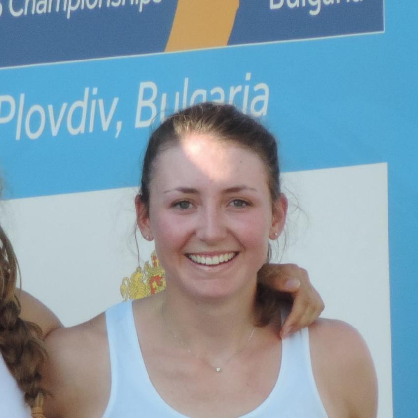 Eléonore DUBUIS   Médaillée de Bronze aux Mondiaux 2015