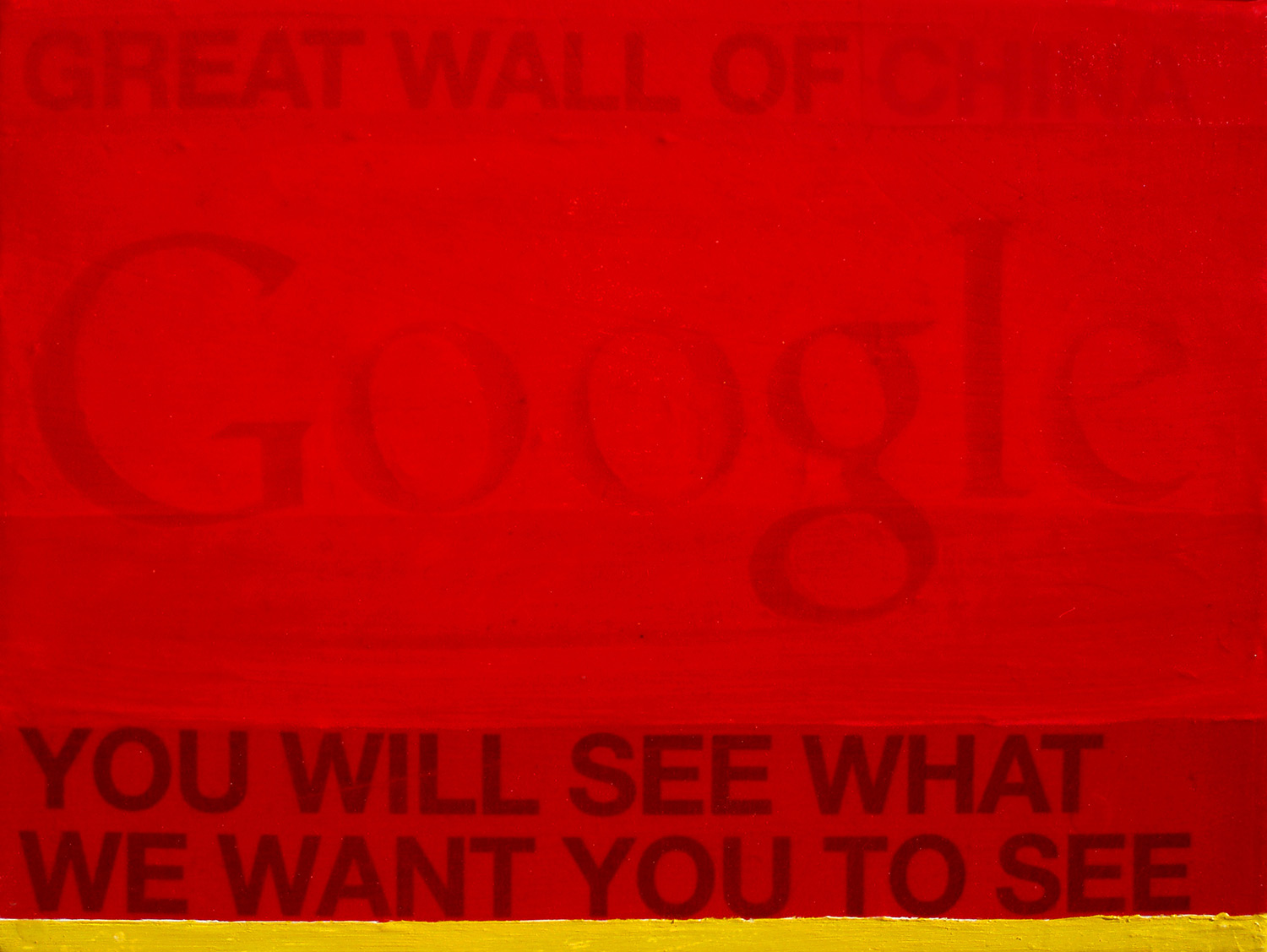 Great wall of Google