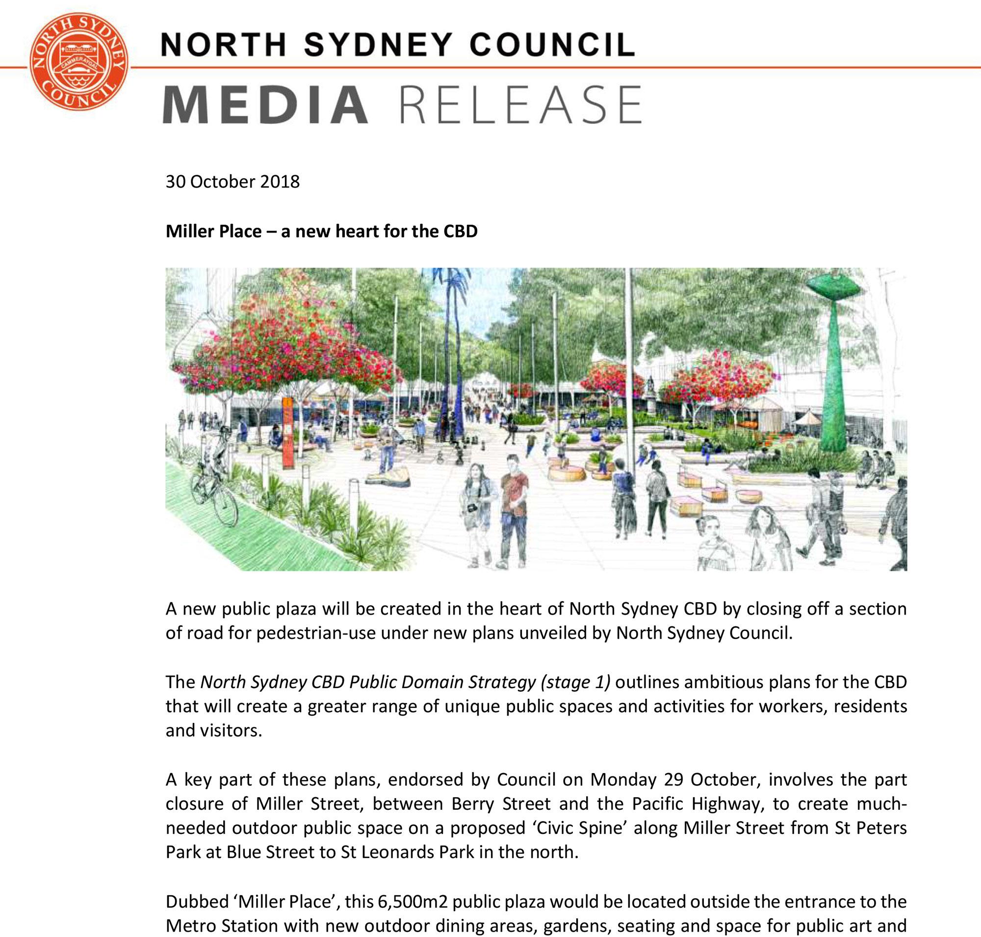 Picture: North Sydney Council