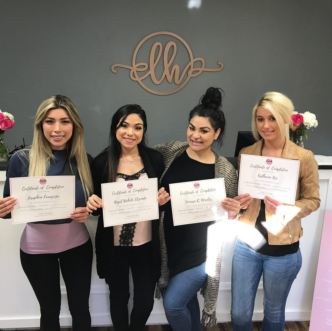 Lash Extension training San Antonio