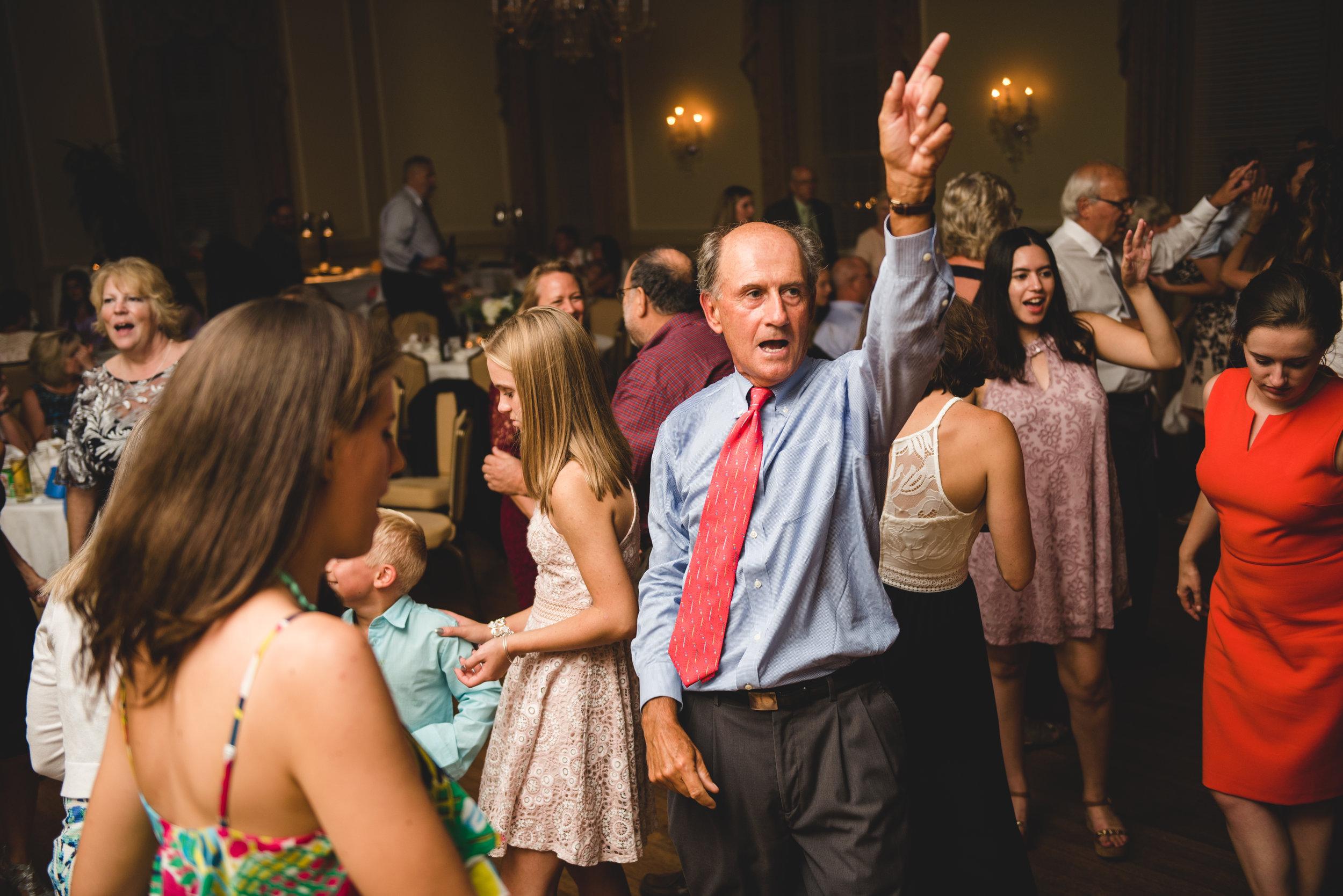 virginia wedding reception