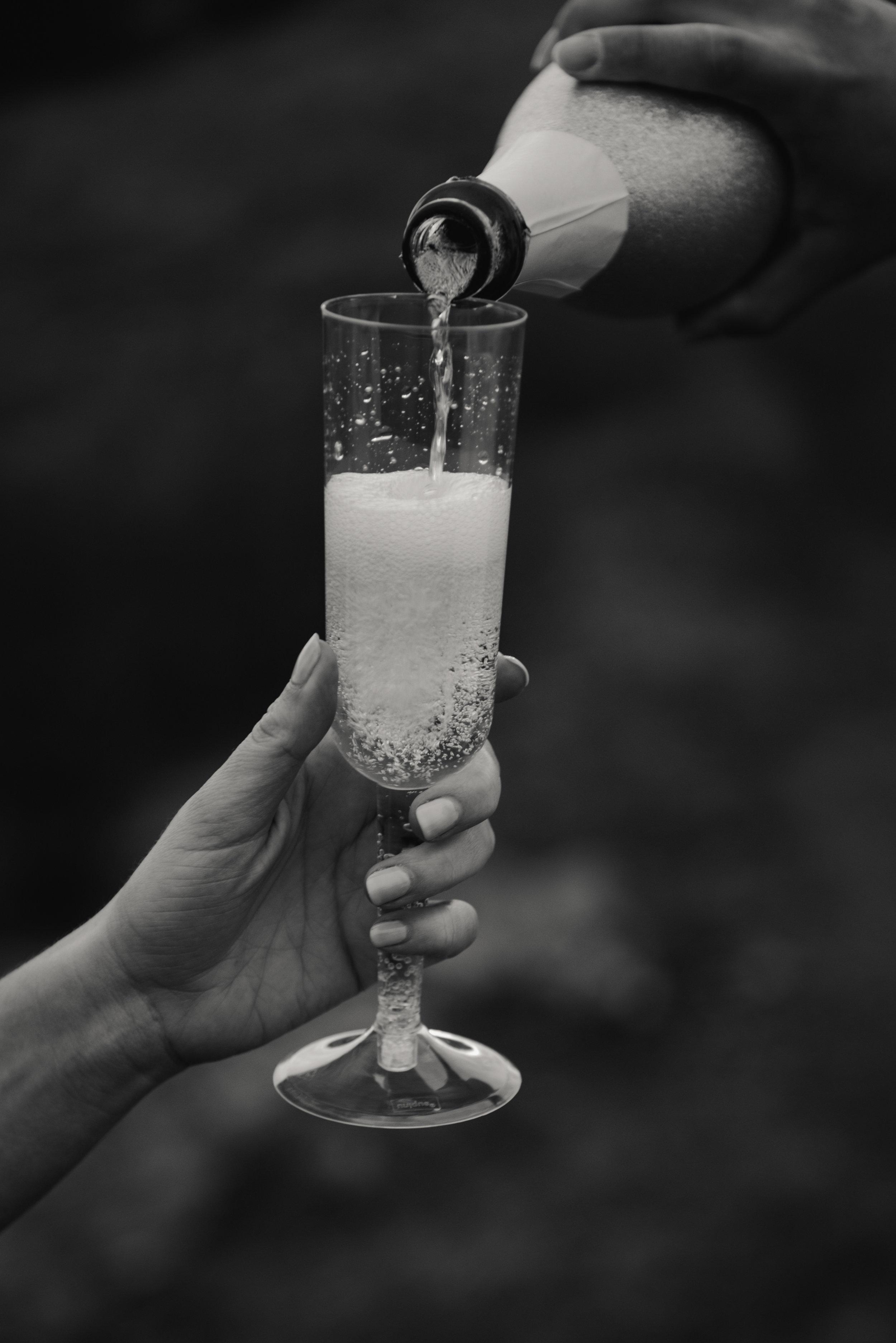 engagement toast