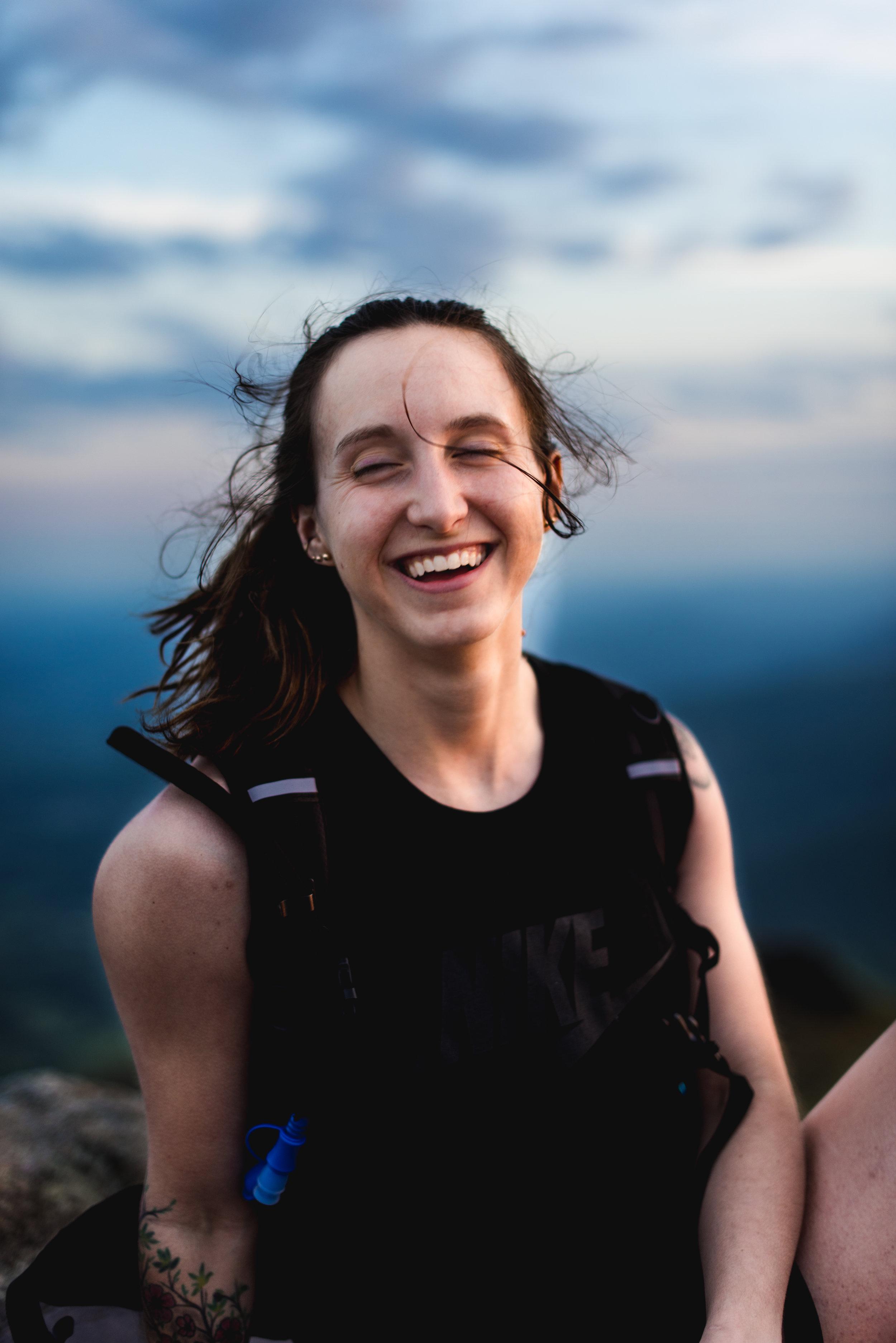 women hikers