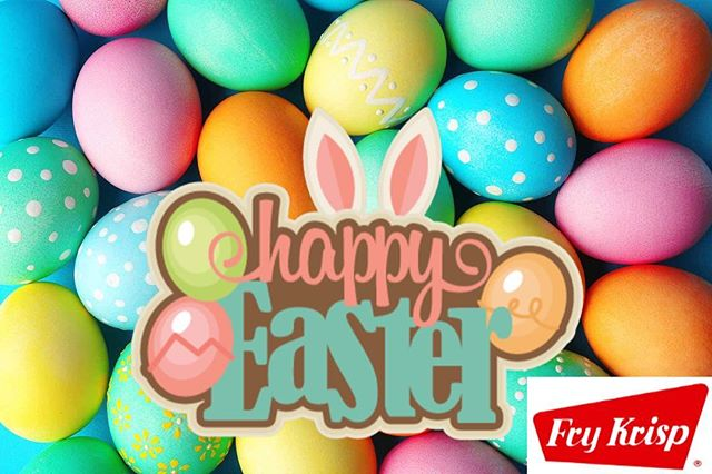 Happy Easter 🐰🐇🐣 . . #happyeaster #FryKrisp #FryDay #battermix #coatingmix #jacksonmichigan #foodservice #delivery #food #allnaturalingredients #allnatural #nongmo #nomsg #zerotransfat