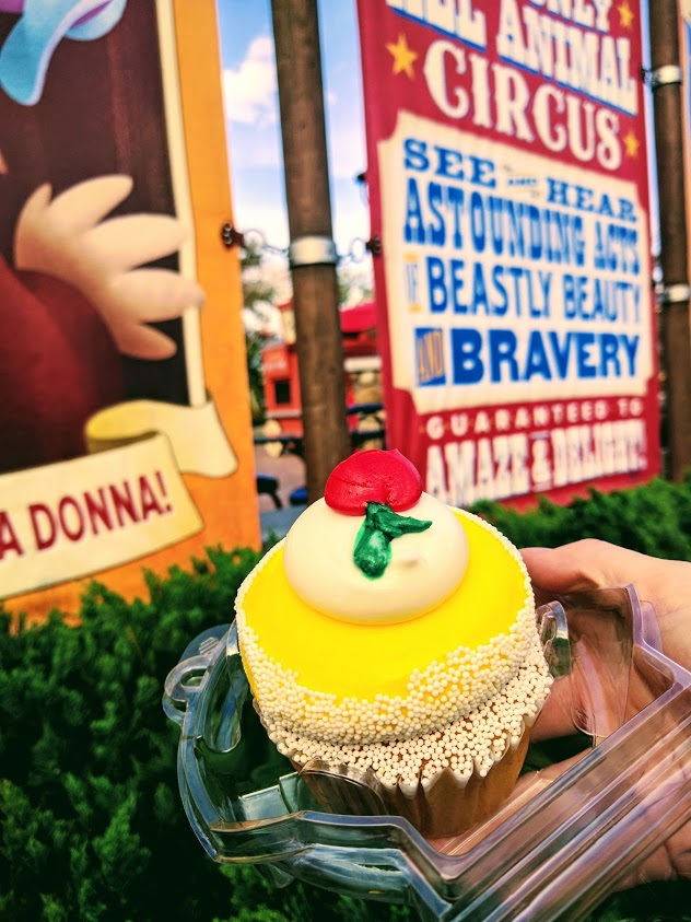 The Belle Cupcake is amazing!