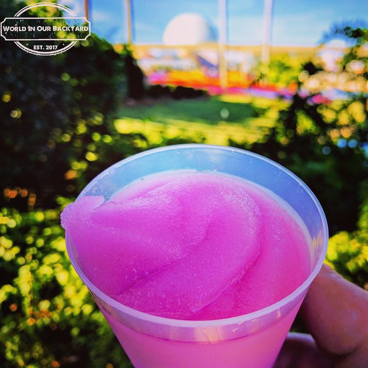 The Frozen Desert Violet Lemonade, aka Violet Lemonade, aka the festival lemonade