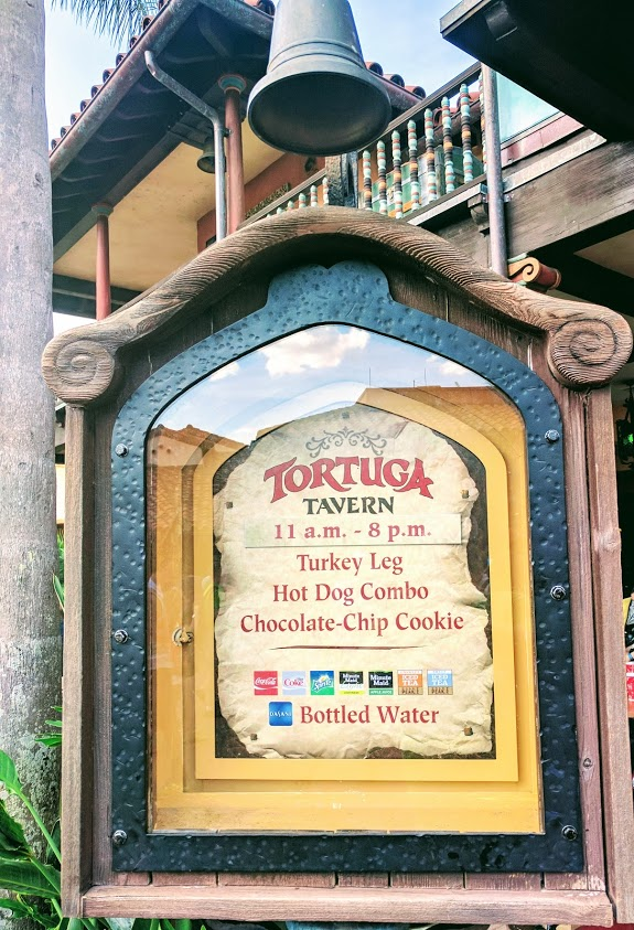 This location has become the place to get hot dogs and turkey legs as the carts carrying these items in Frontierland have been closed.