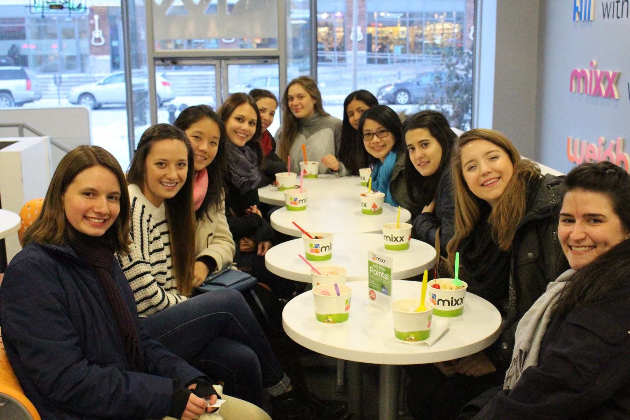 Out for froyo