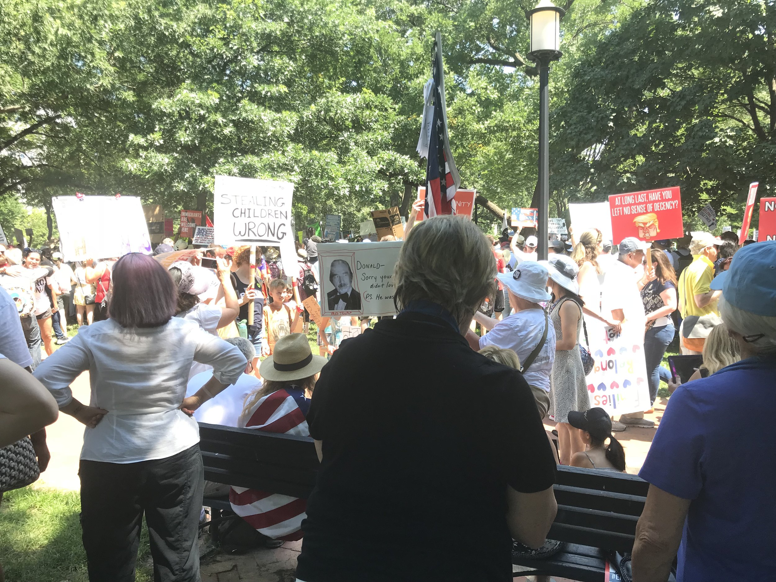 Immigration Rally (June 30, 2018)