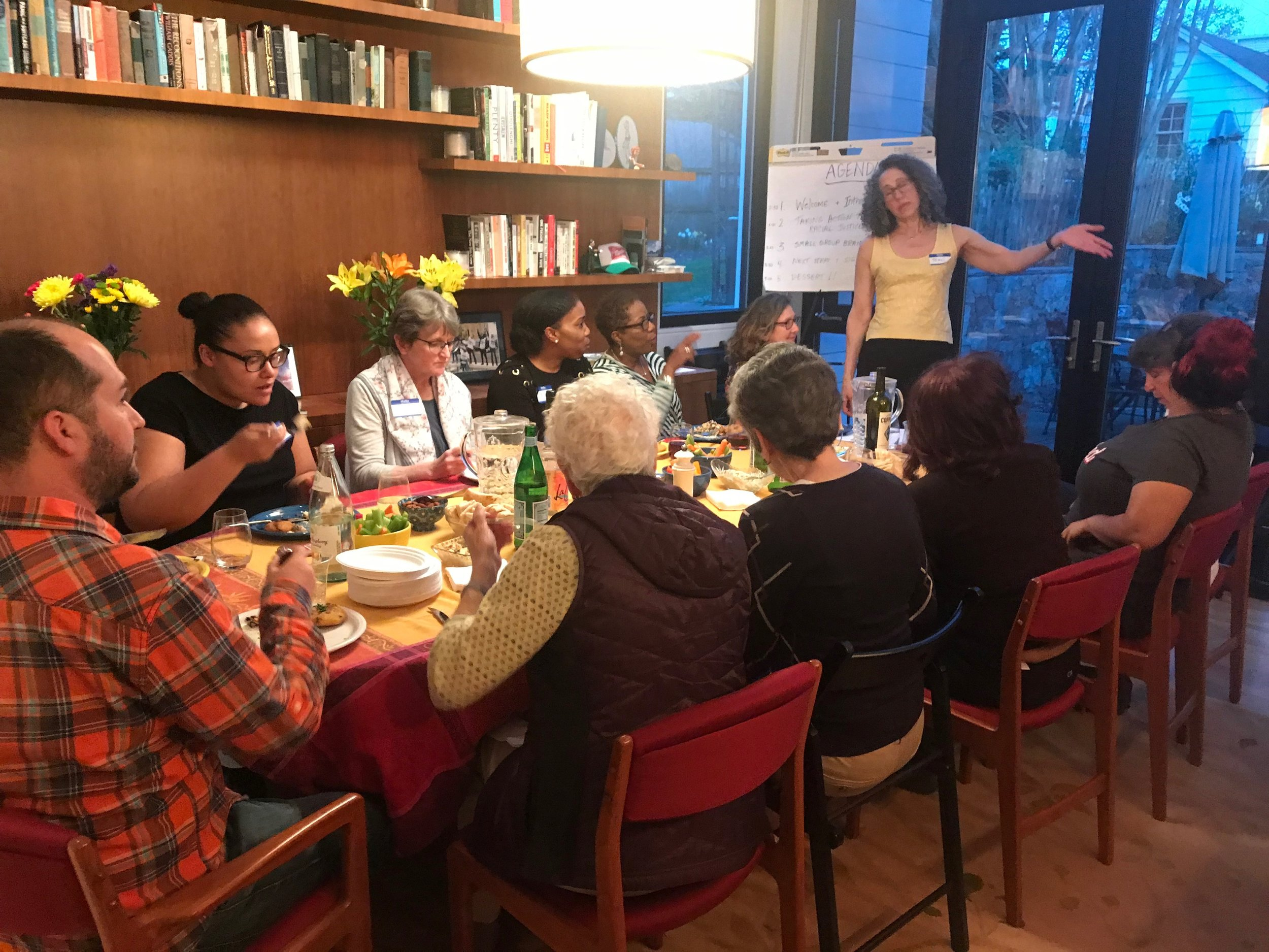 Meeting of DC Neighbors for Racial Justice